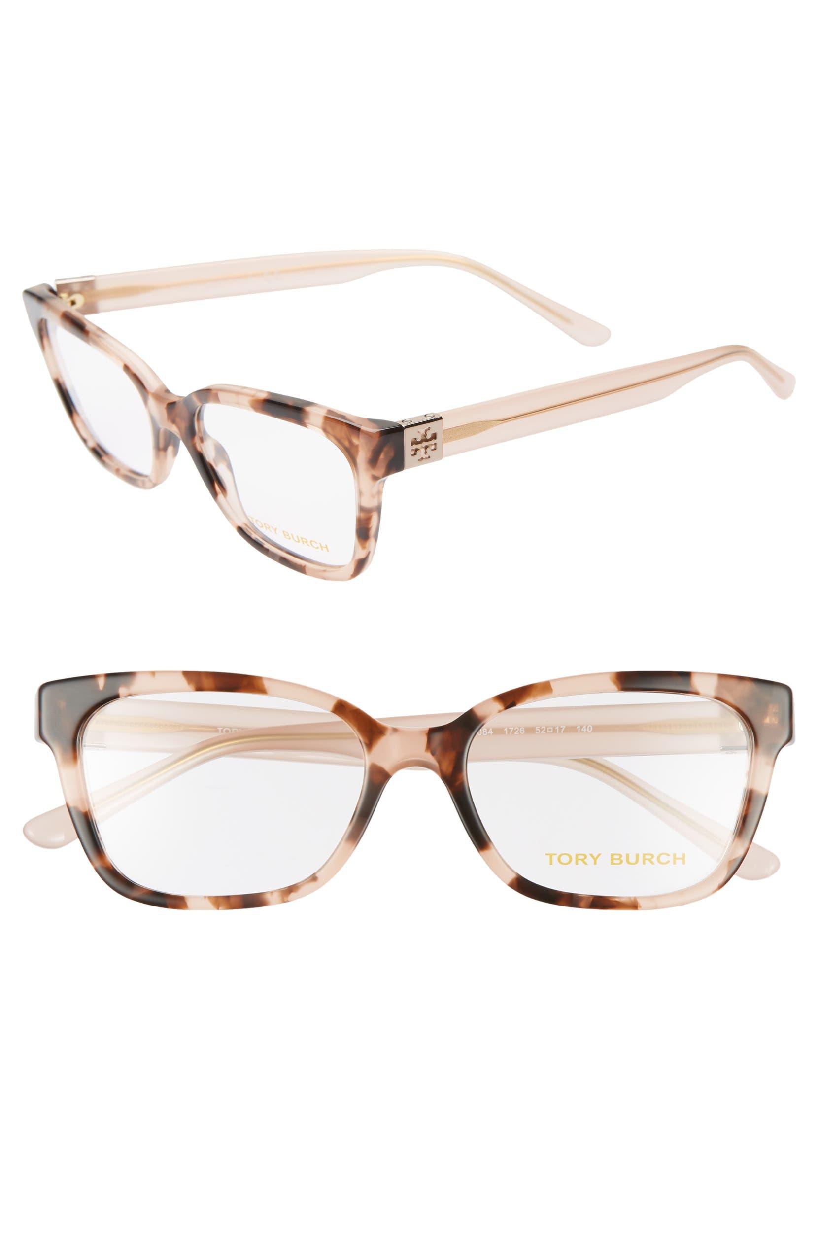 40a7378590f Tory Burch 52mm Square Optical Glasses