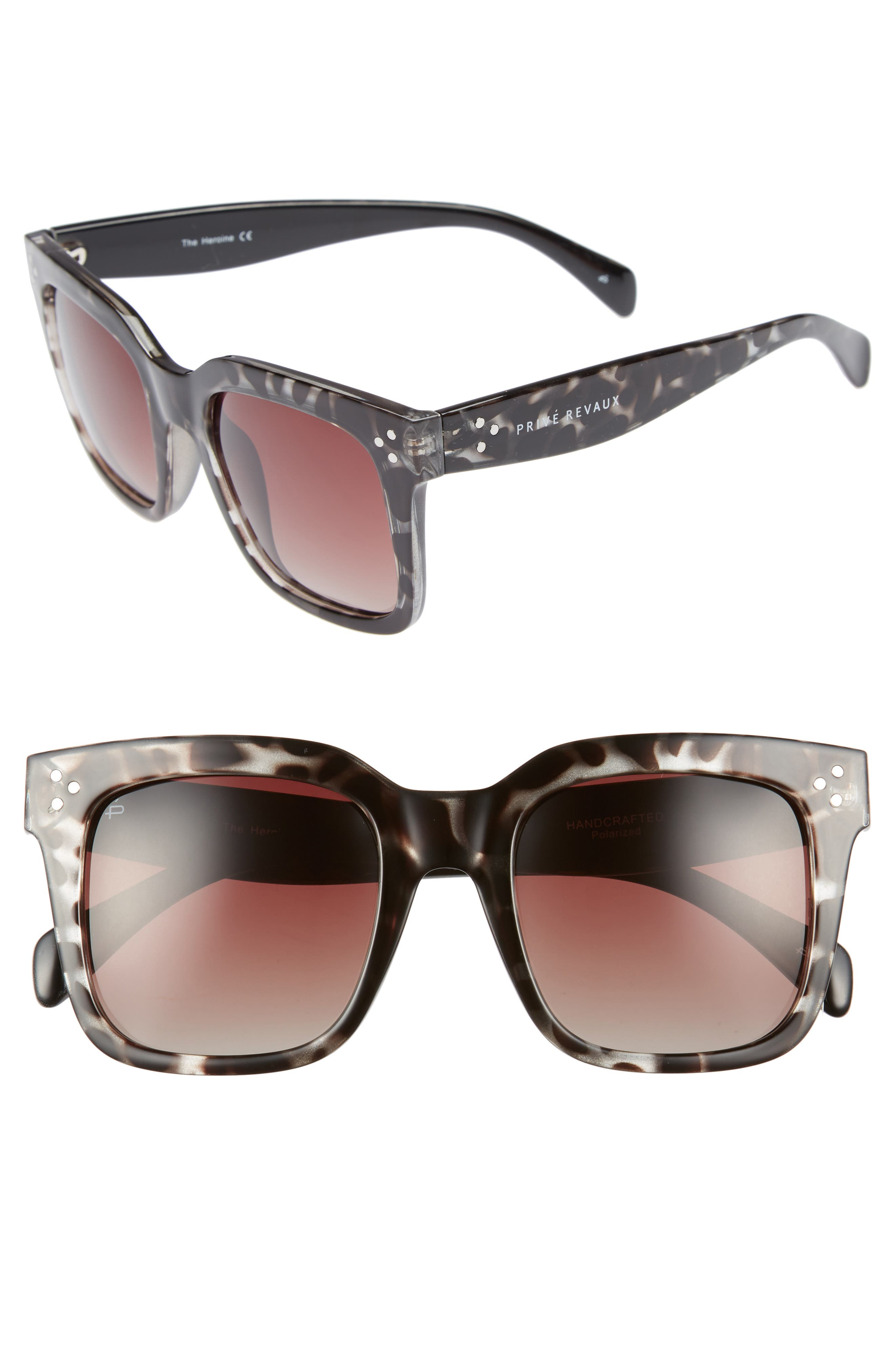 The Heroine 53mm Sunglasses, Main, color, 200