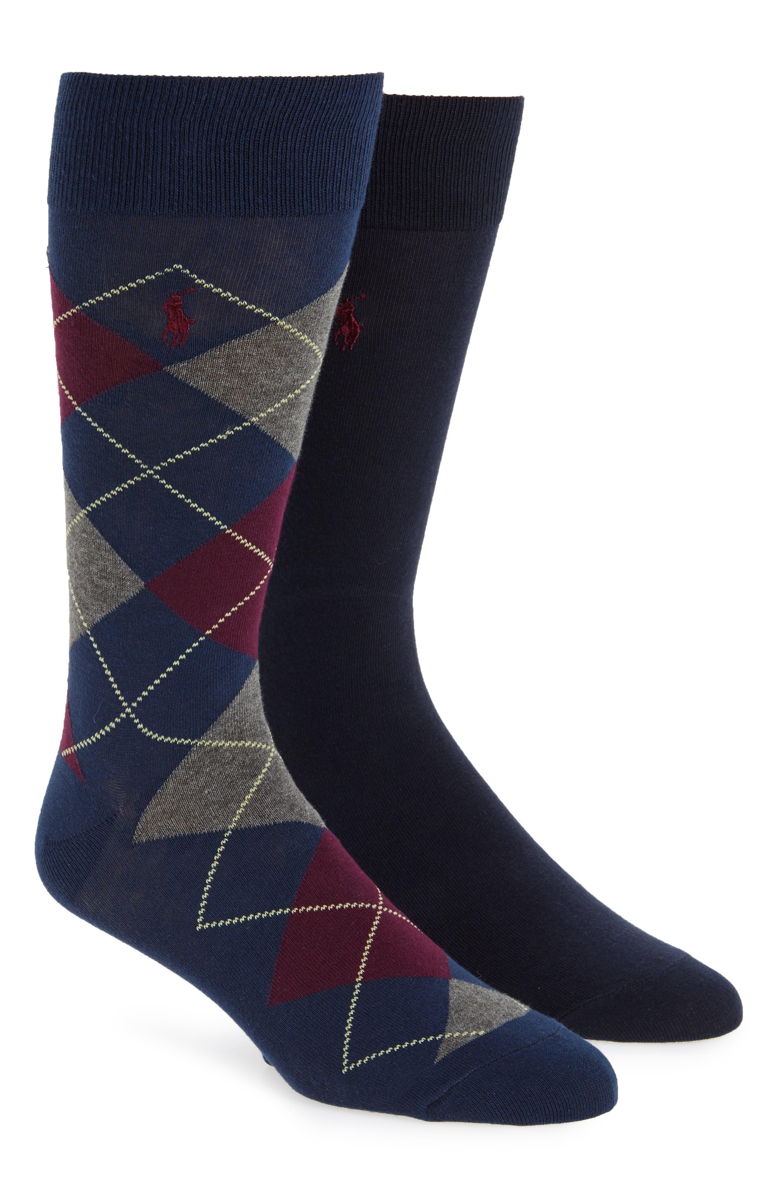 Cotton Blend Socks,                             Alternate thumbnail 2, color,                             499