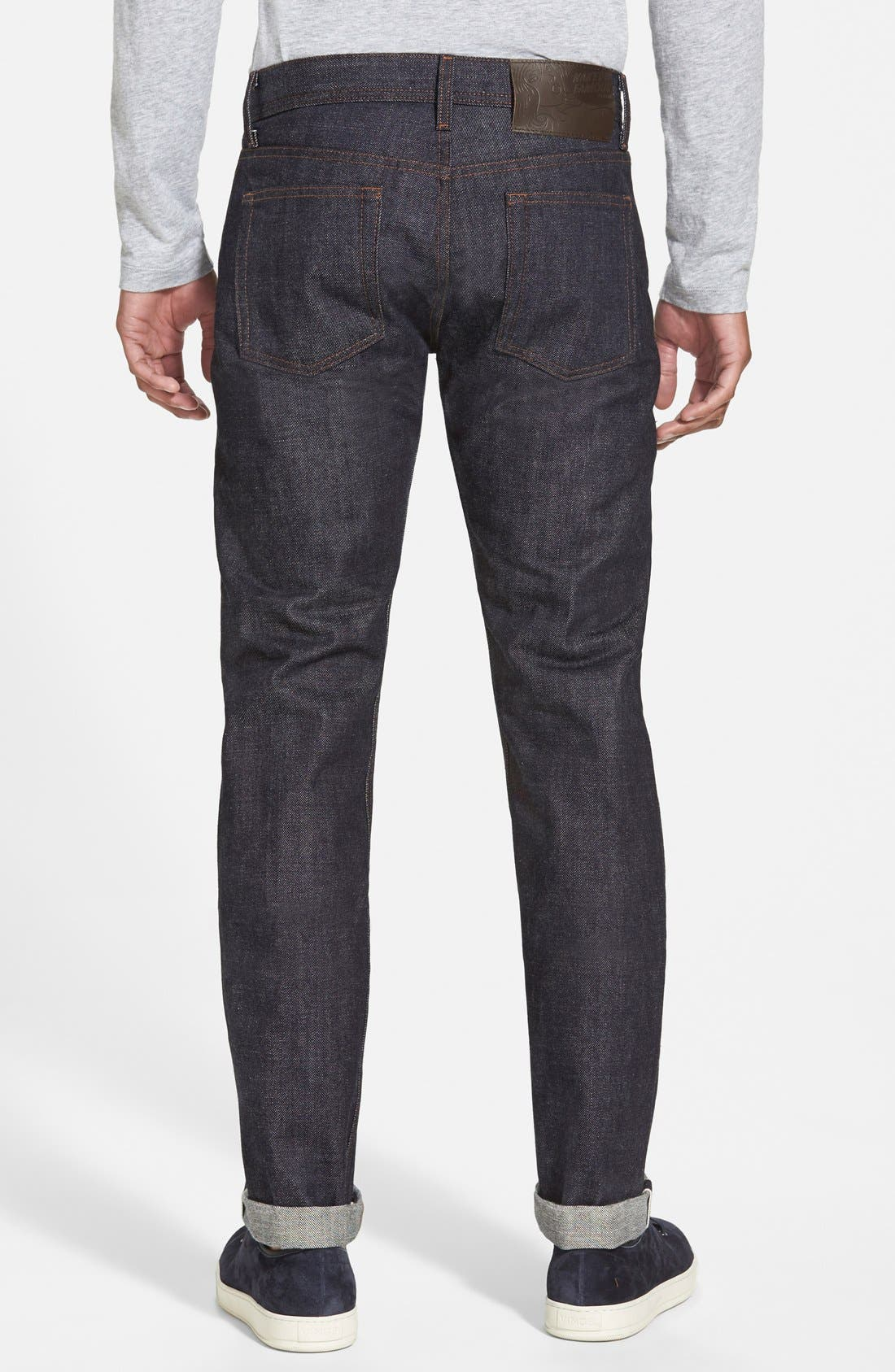 'Weird Guy' Shrink To Fit Slim Fit Jeans,                             Alternate thumbnail 3, color,                             400