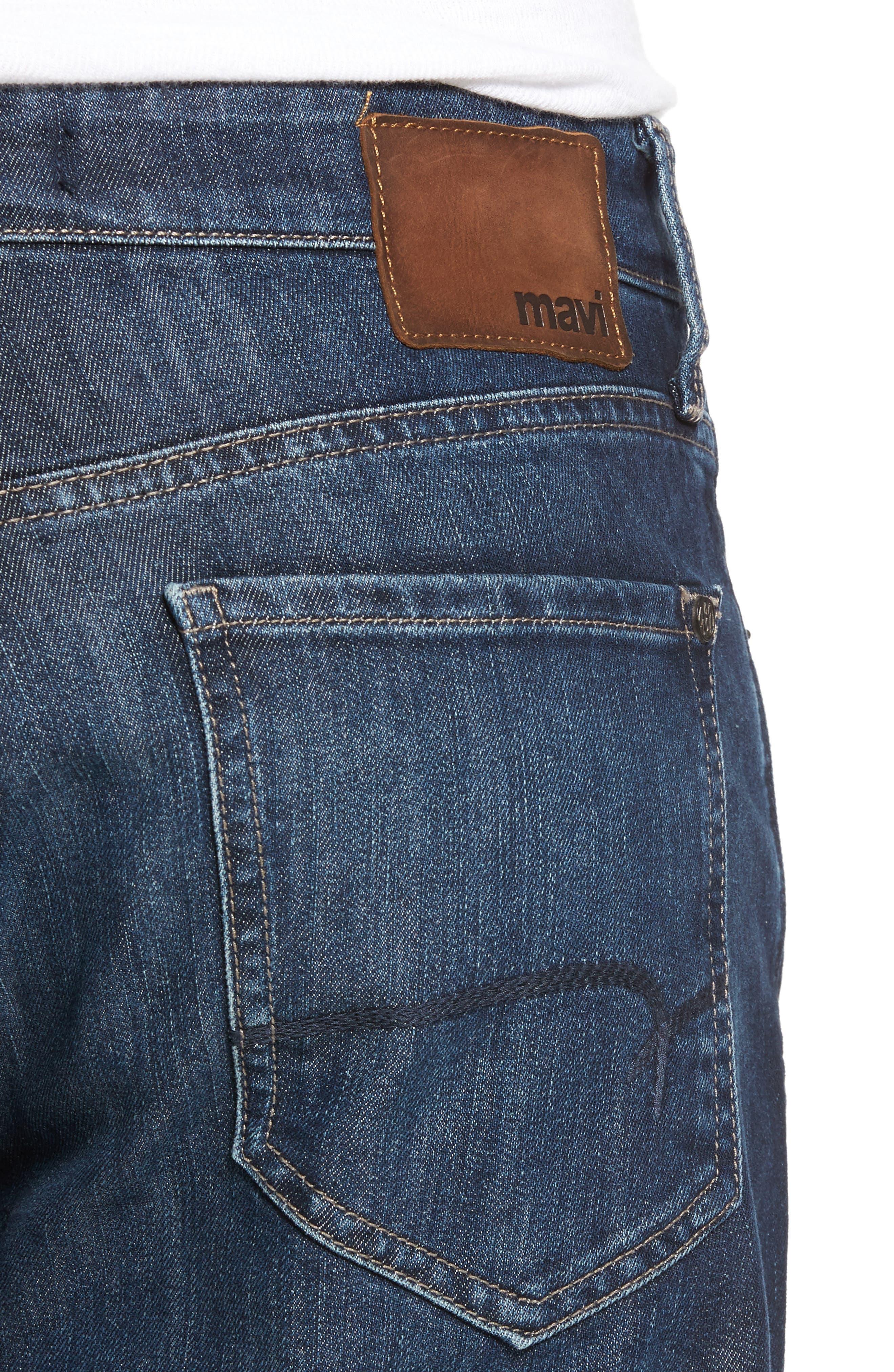 Myles Straight Leg Jeans,                             Alternate thumbnail 4, color,
