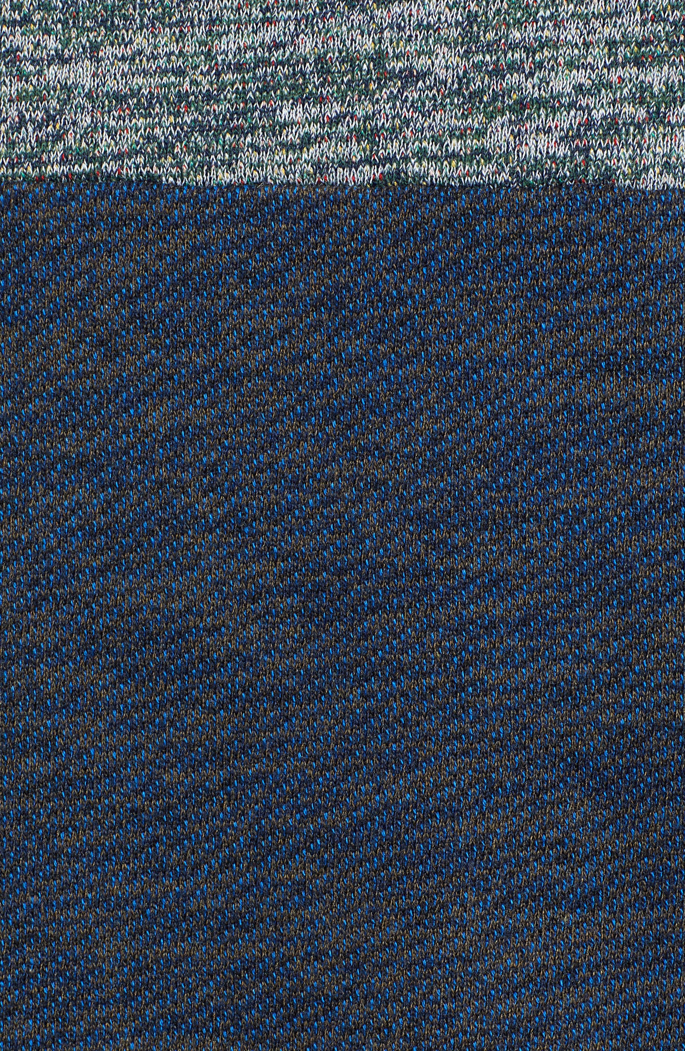 Mélange Colorblock Hoodie,                             Alternate thumbnail 5, color,                             COMBO G