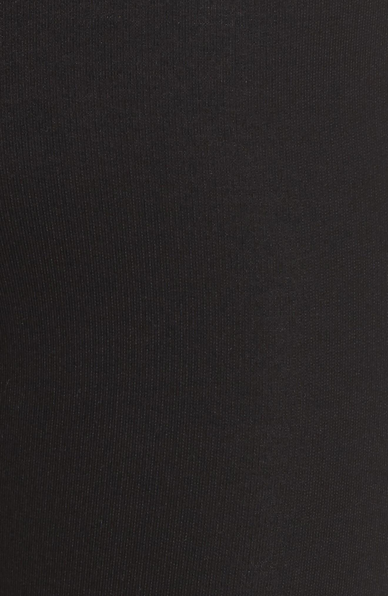 FP Movement Pixi Lace-Up Leggings,                             Alternate thumbnail 6, color,                             BLACK
