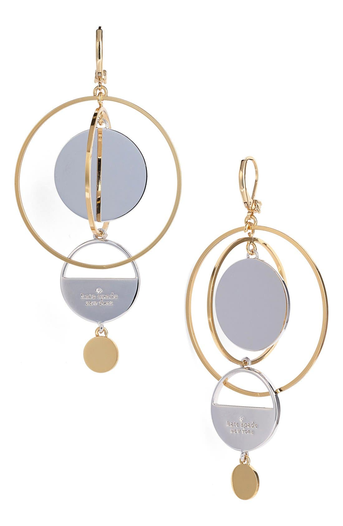 'set the tone' statement earrings, Main, color, 710