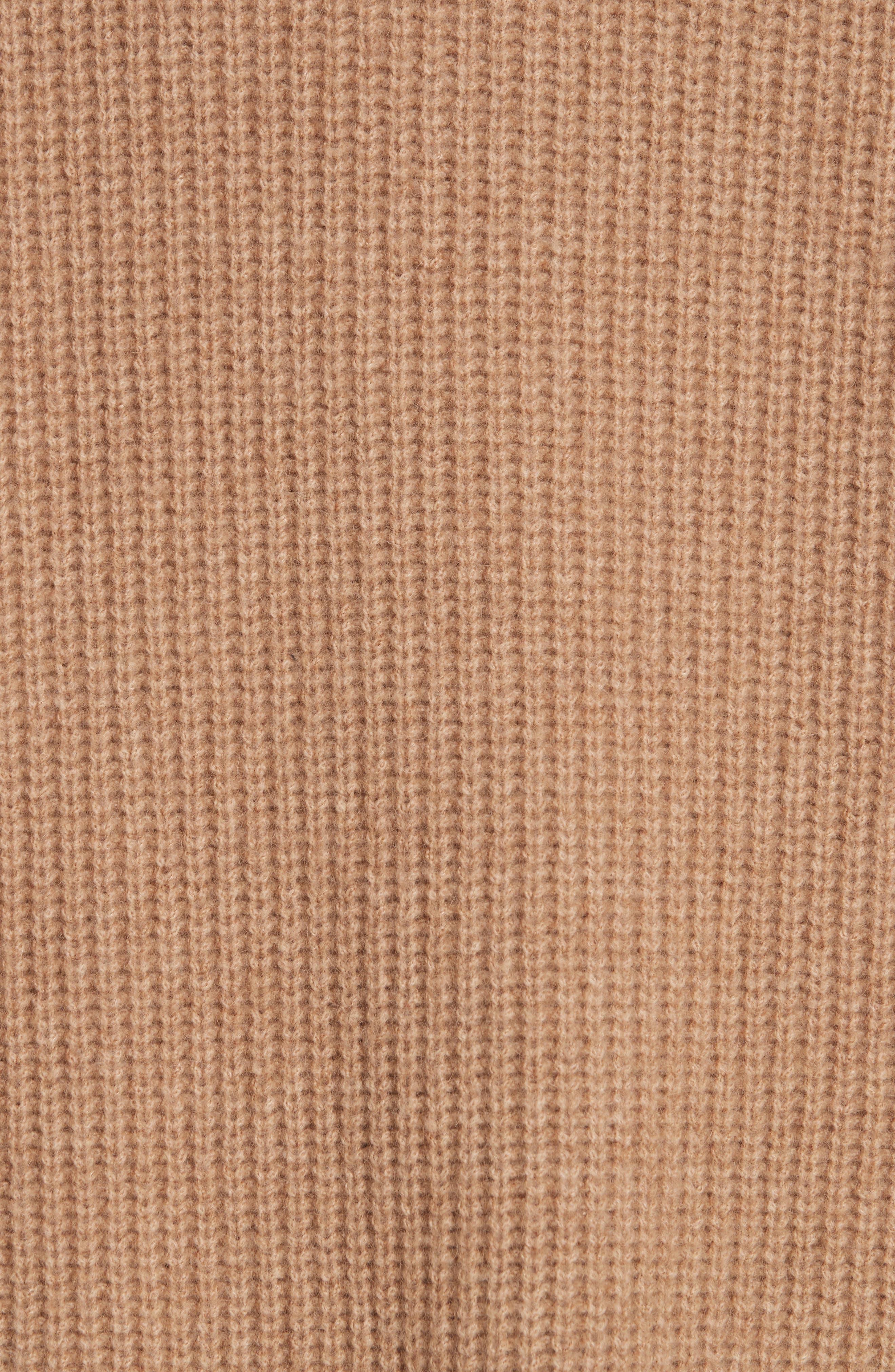 NILI LOTAN,                             Anitra Rib Knit Turtleneck Sweater,                             Alternate thumbnail 5, color,                             261