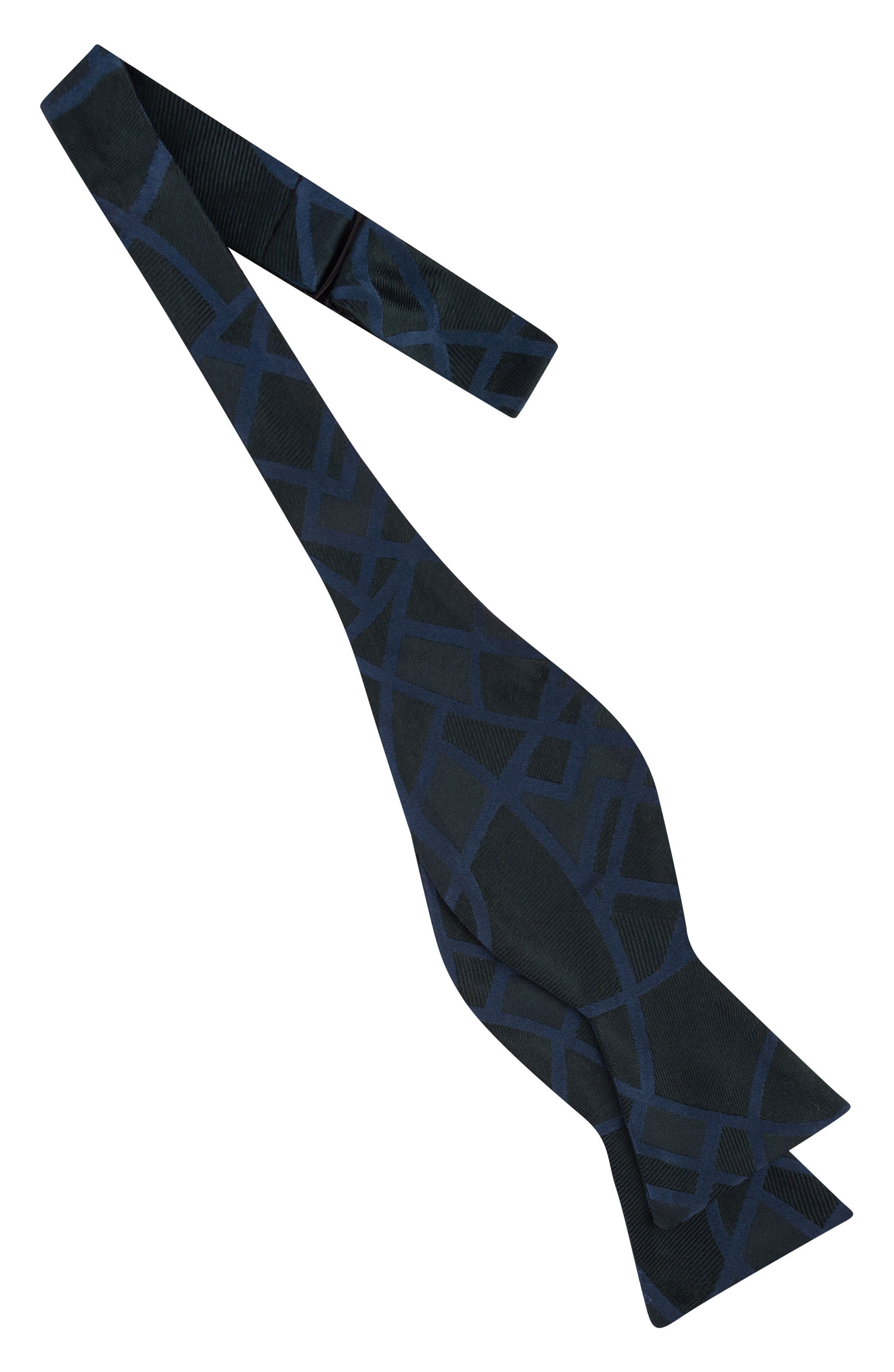 Delicate Abstract Silk Bow Tie,                             Alternate thumbnail 4, color,