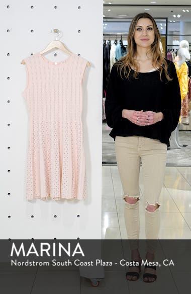 Vellia Flippy Knit Skater Dress, sales video thumbnail