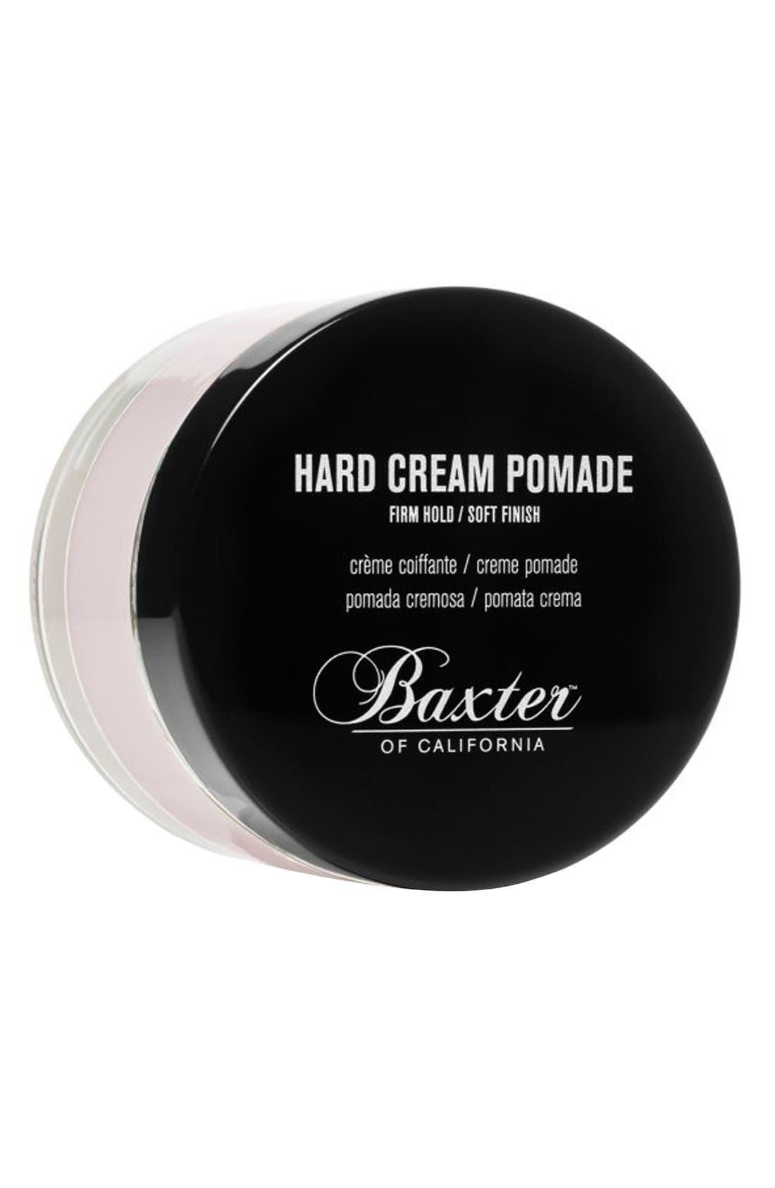 Hard Cream Pomade,                             Main thumbnail 1, color,                             NO COLOR