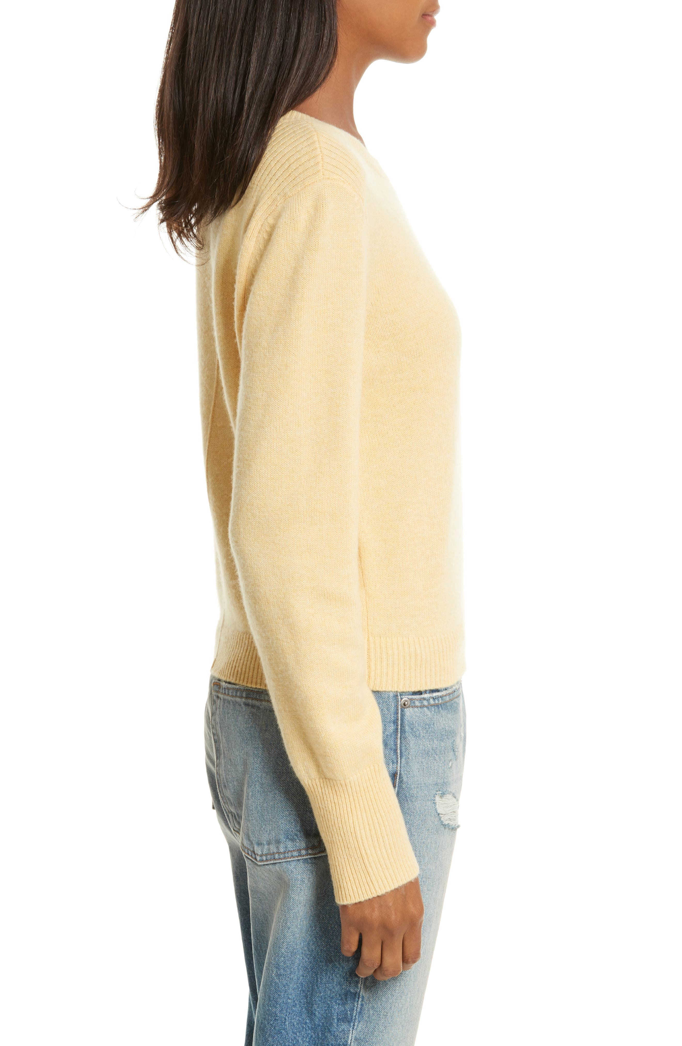 Wool & Cashmere Sweater,                             Alternate thumbnail 3, color,                             700