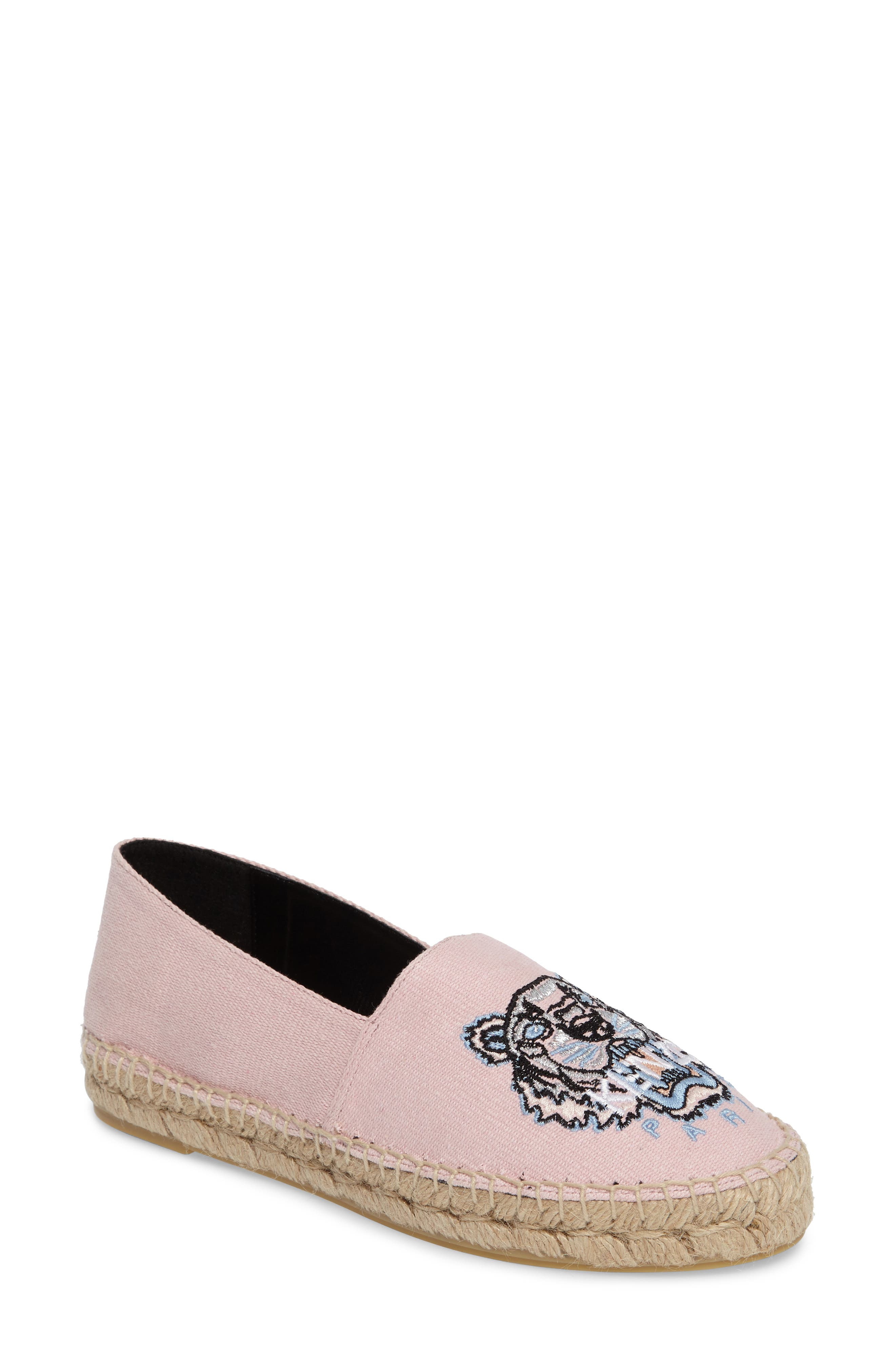 Tiger Logo Embroidered Espadrille,                             Main thumbnail 1, color,