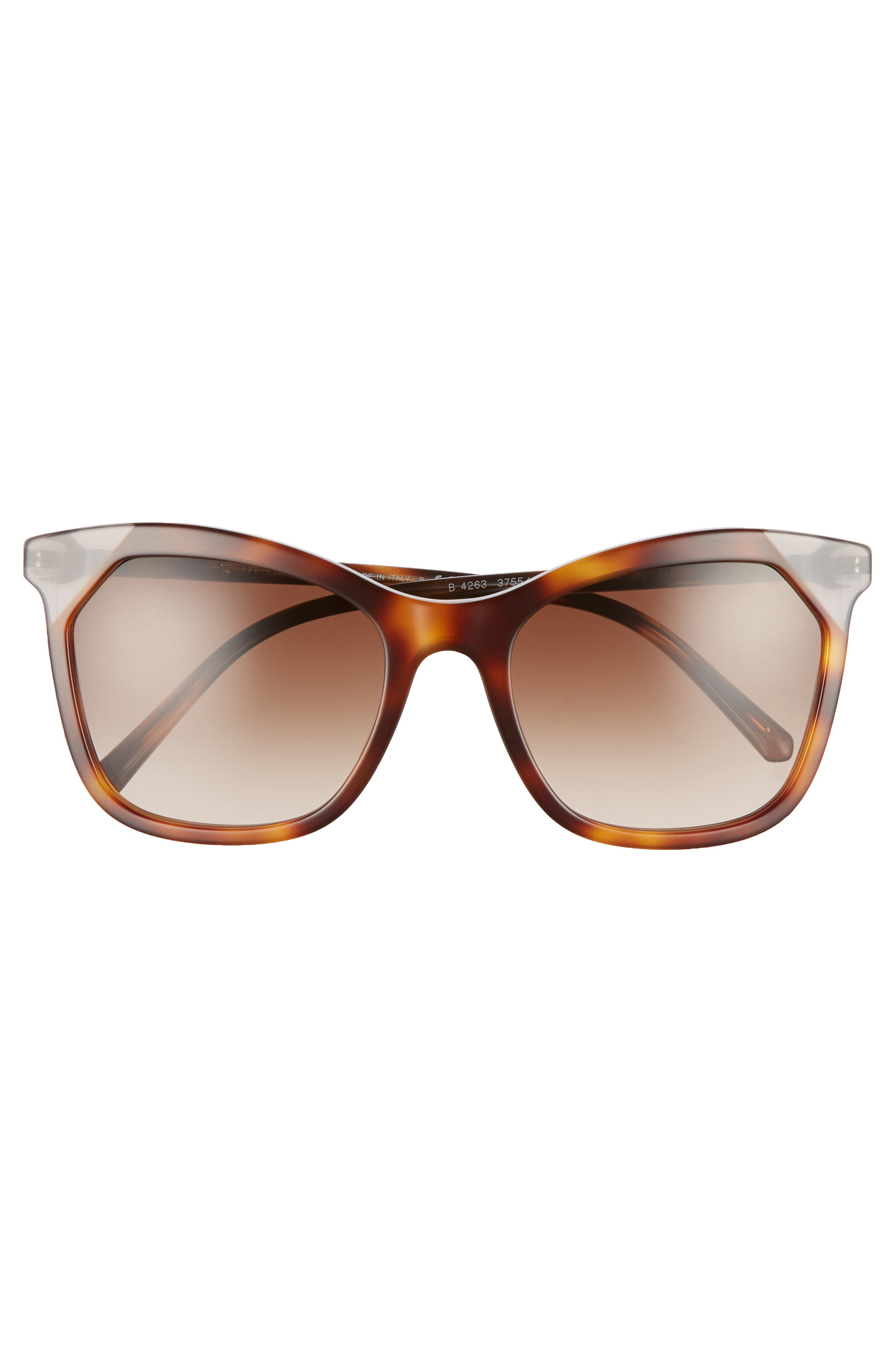 Heritage 54mm Square Sunglasses,                             Alternate thumbnail 7, color,