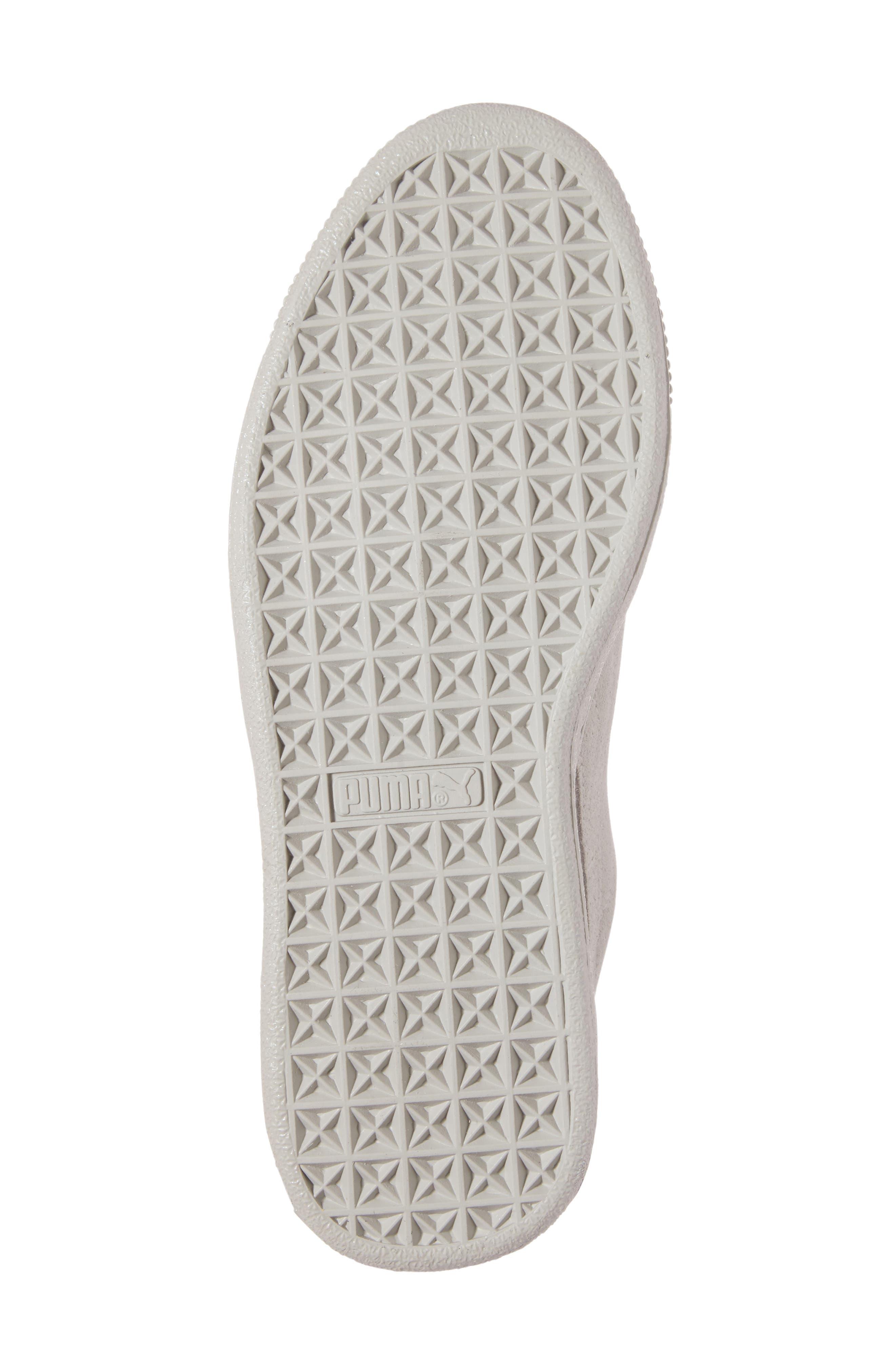 Suede - Heart Sneaker,                             Alternate thumbnail 46, color,