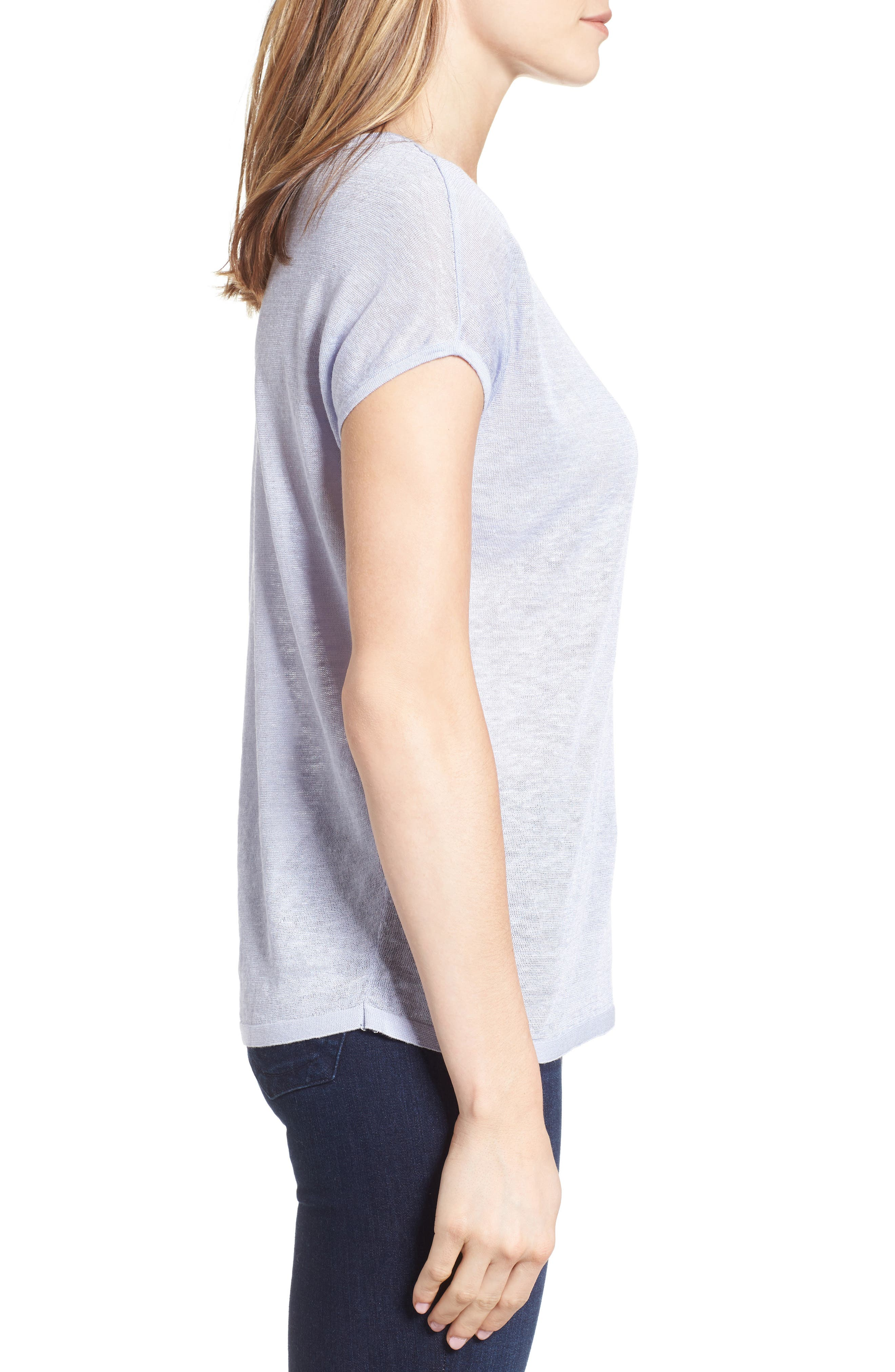 Everyday Tissue Weight Tee,                             Alternate thumbnail 27, color,