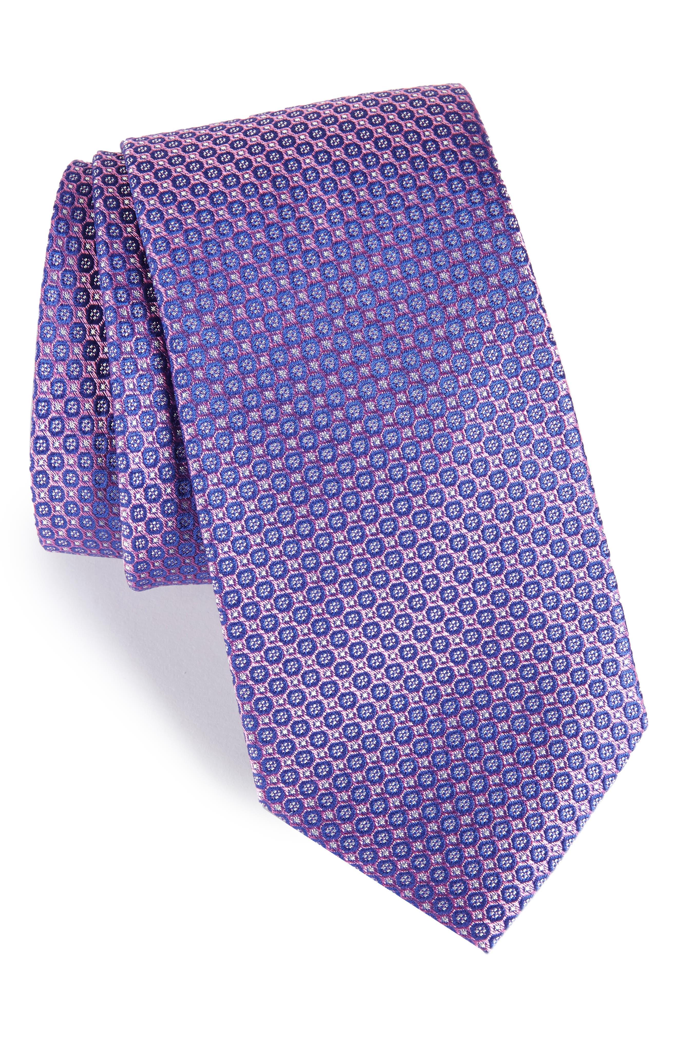 Park Ave Solid Silk Tie,                             Main thumbnail 4, color,