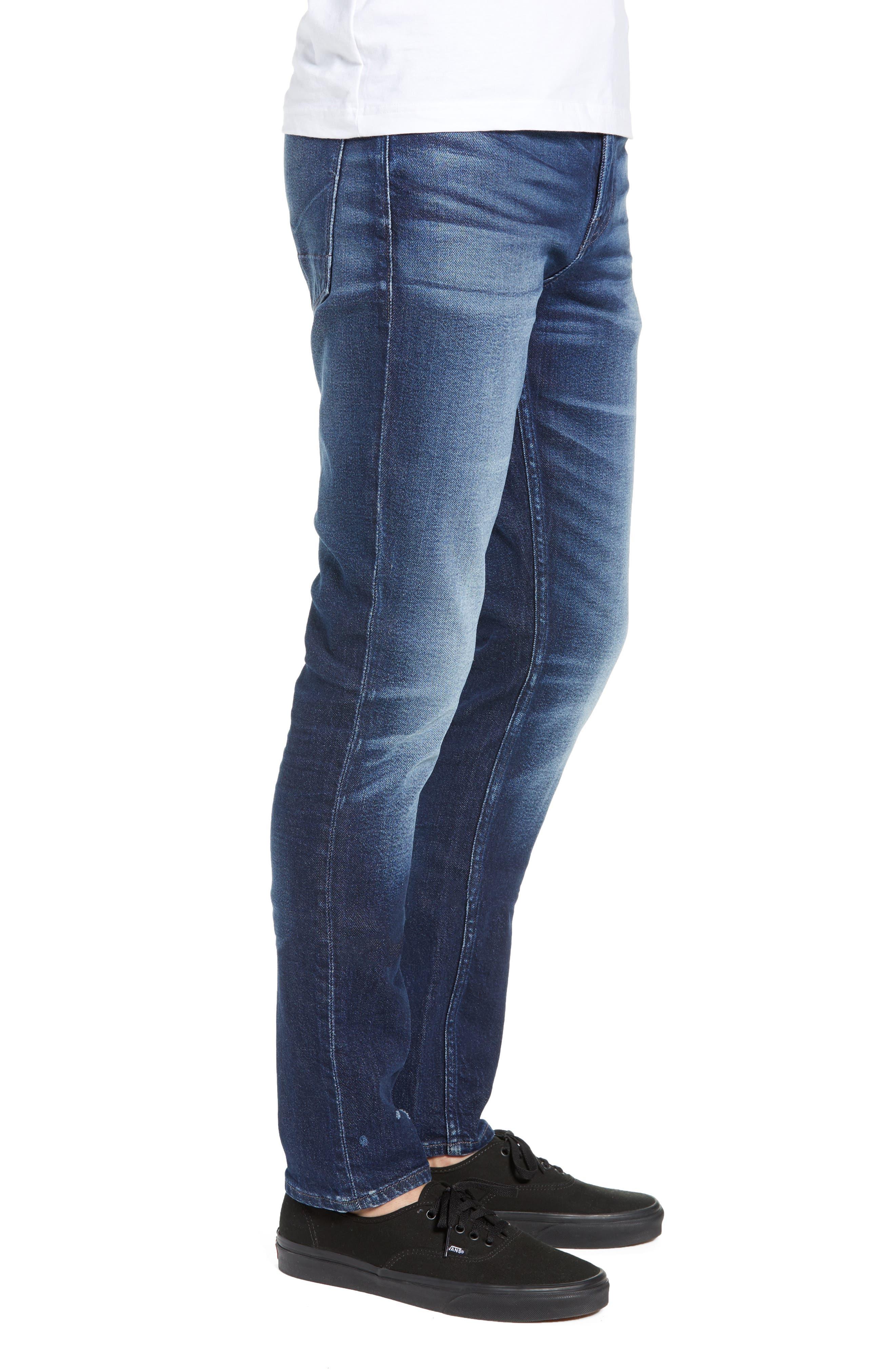 Axl Skinny Fit Jeans,                             Alternate thumbnail 3, color,                             BENNETT