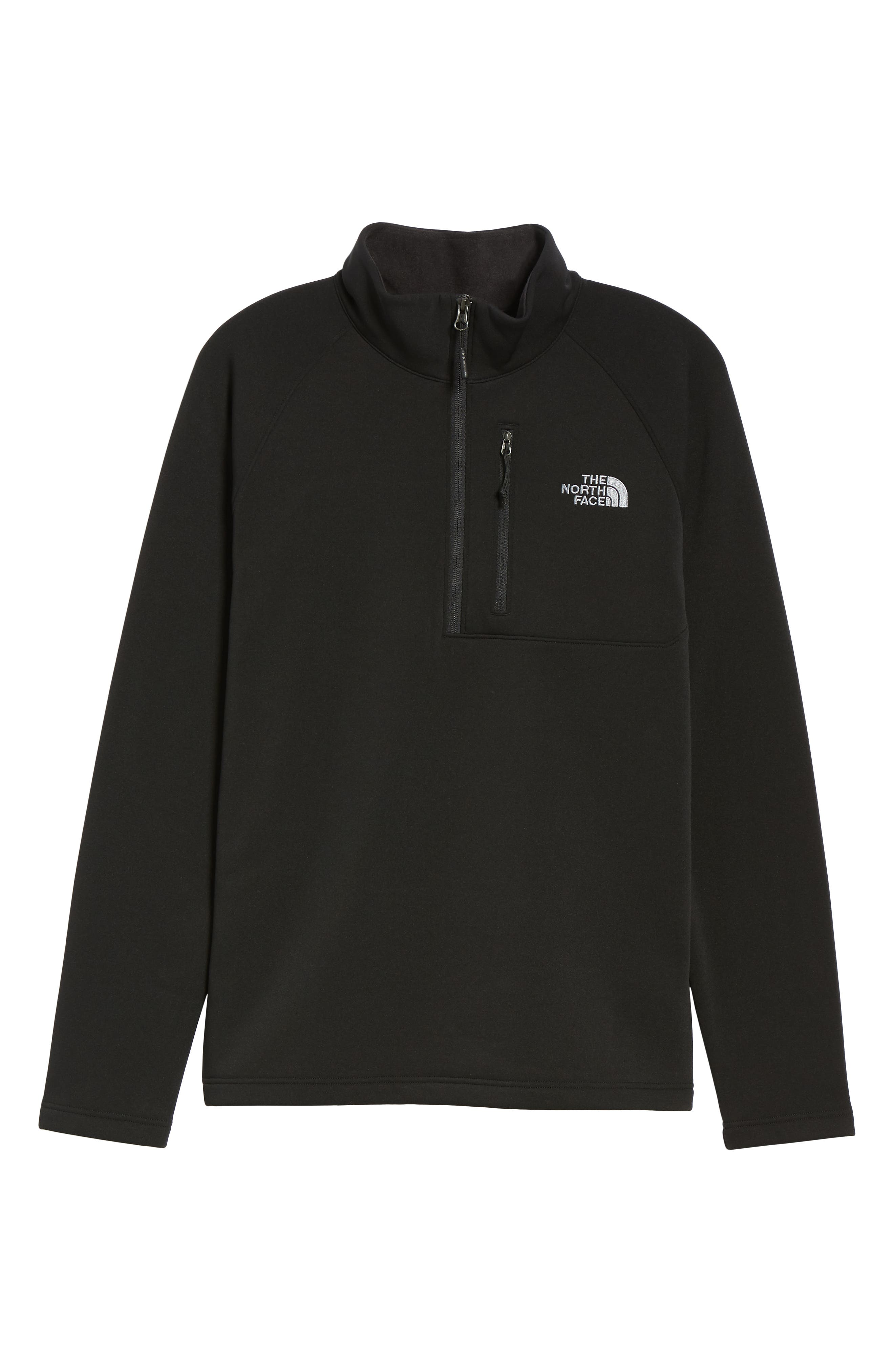 THE NORTH FACE,                             Tenacious Quarter Zip Pullover,                             Alternate thumbnail 6, color,                             001