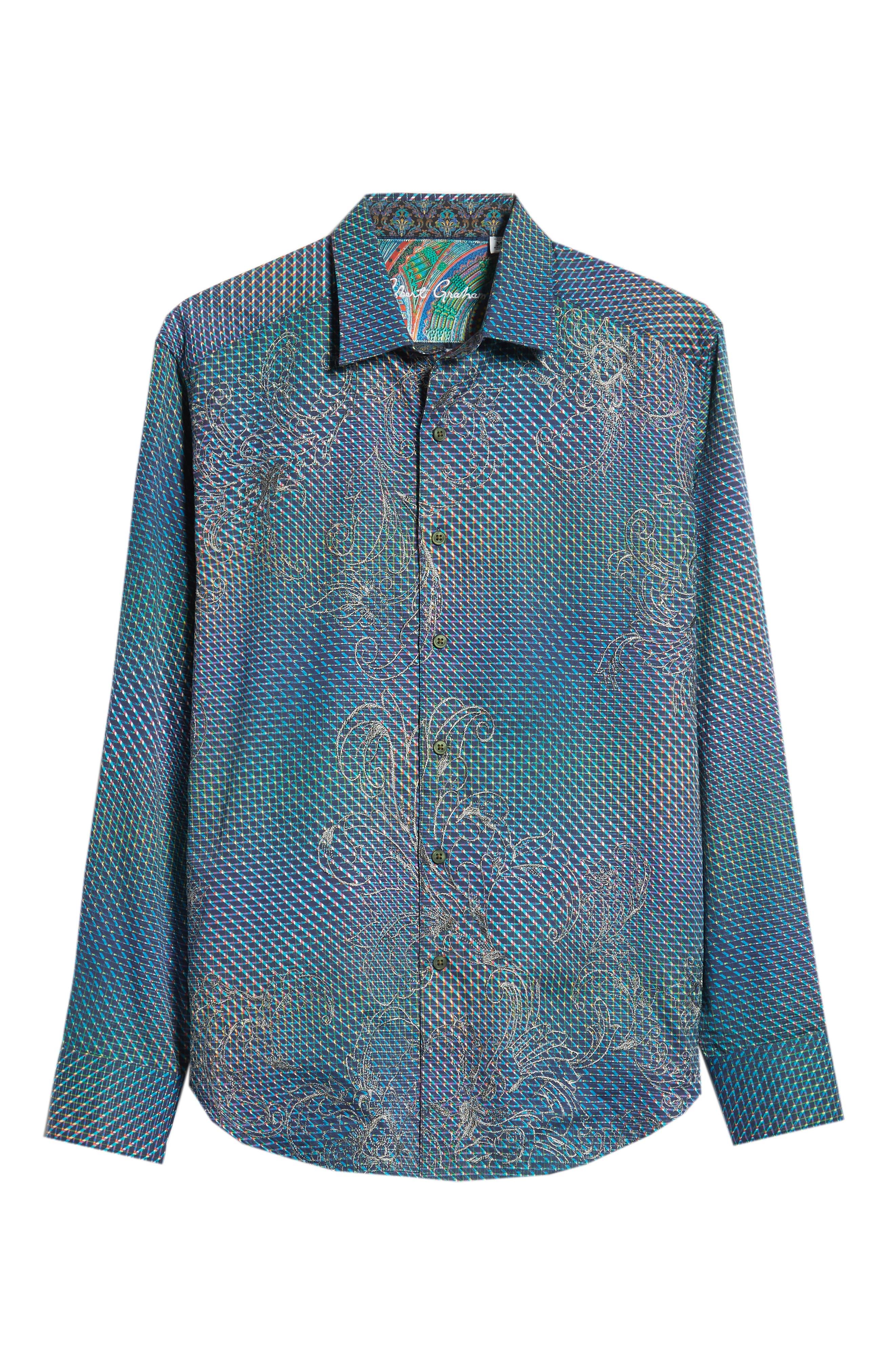 Marsh Classic Fit Sport Shirt,                             Alternate thumbnail 5, color,                             400