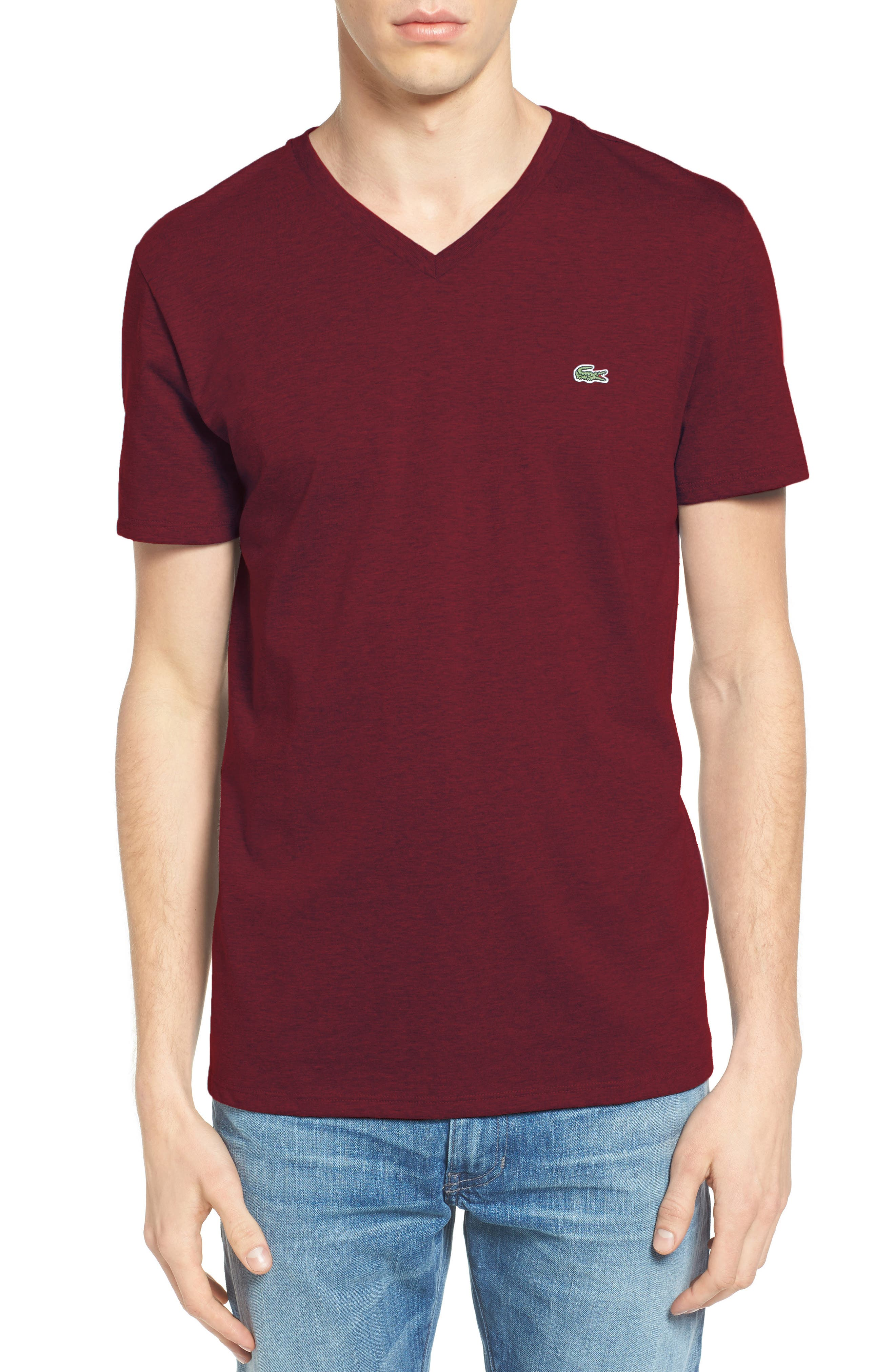 V-Neck T-Shirt,                             Main thumbnail 8, color,