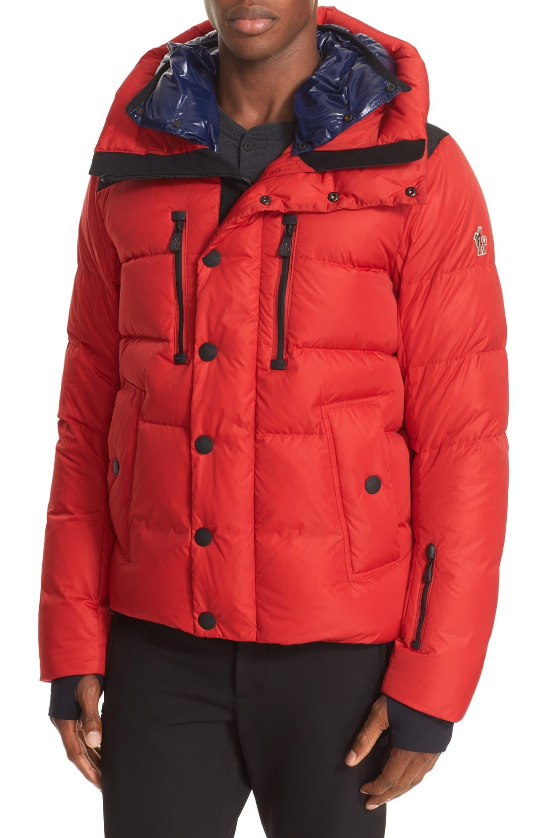 'Rodenberg' Water Resistant Down Jacket, Main, color, 611