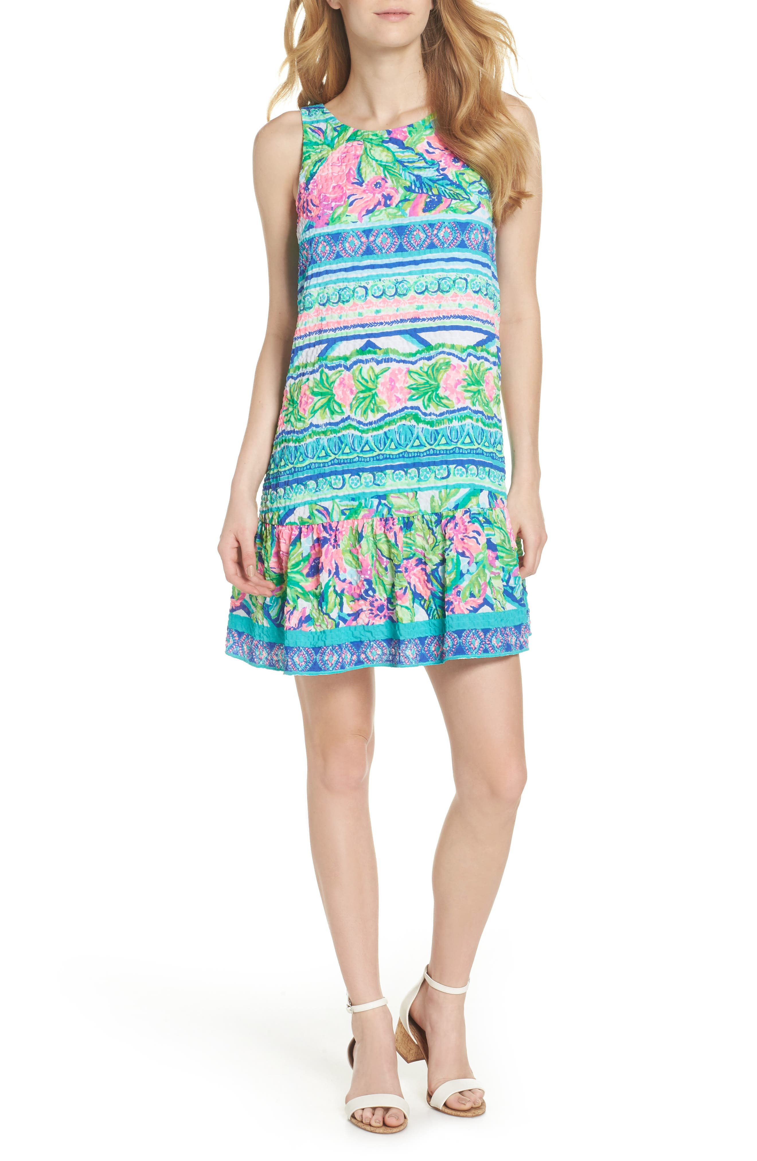 Lilly Pulitzer Gabriella Dress,                             Alternate thumbnail 5, color,                             440