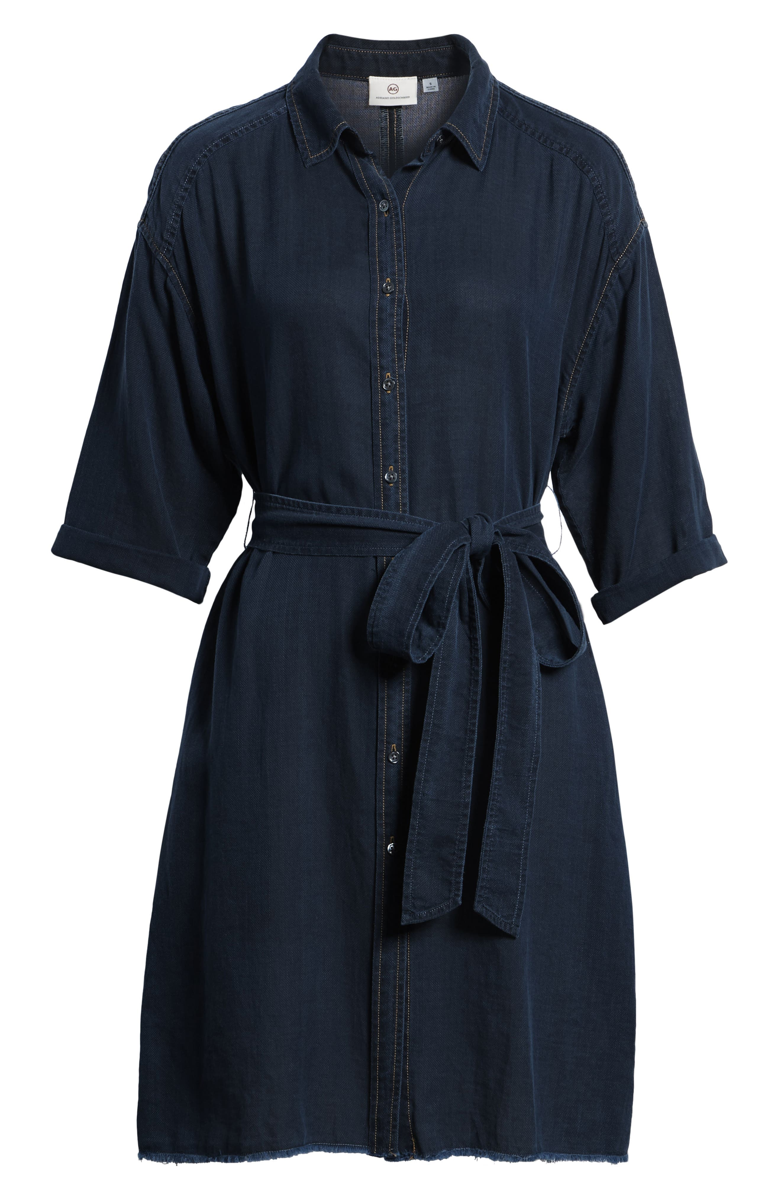 AG,                             Claudia Canvas Shirtdress,                             Alternate thumbnail 7, color,                             425