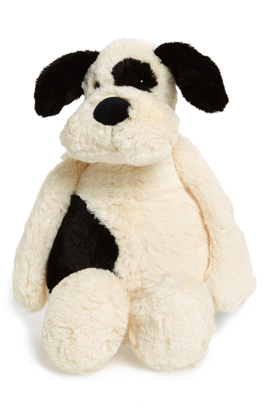 'Large Bashful Puppy' Stuffed Animal,                             Alternate thumbnail 3, color,                             IVORY