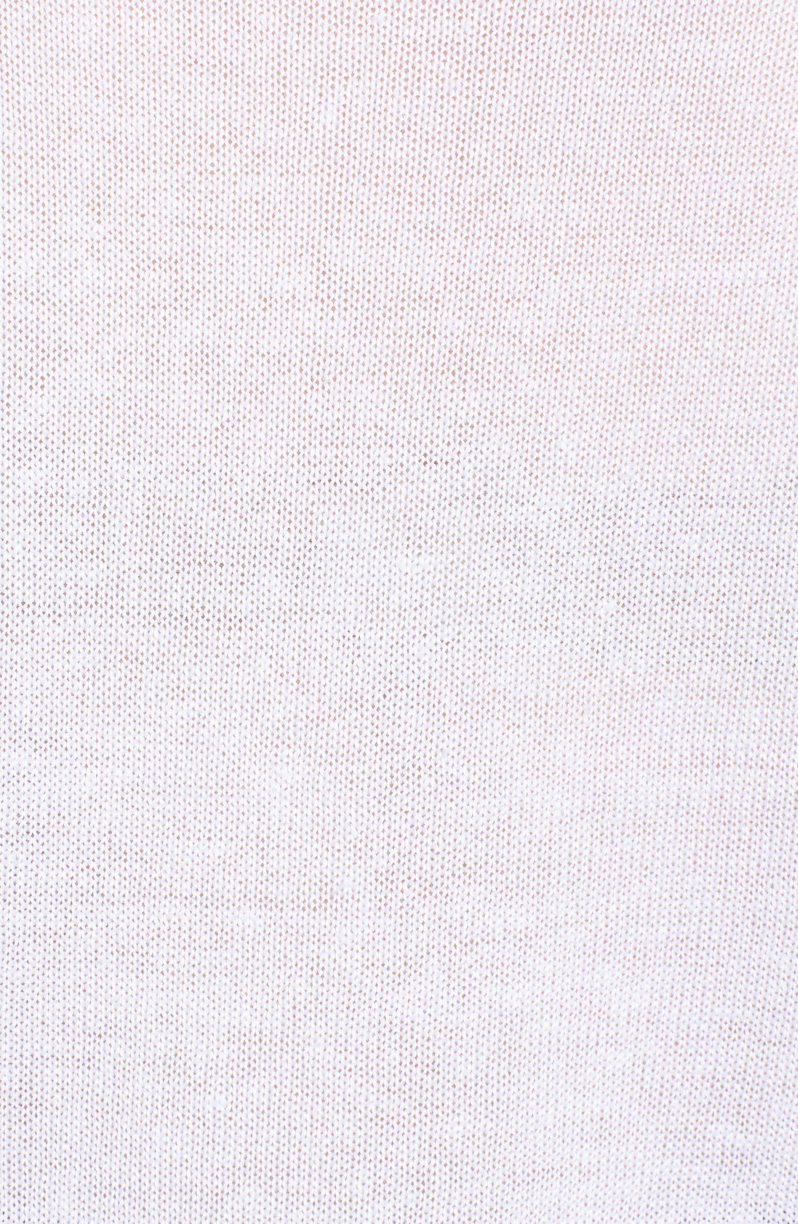Organic Linen Sweater,                             Alternate thumbnail 18, color,