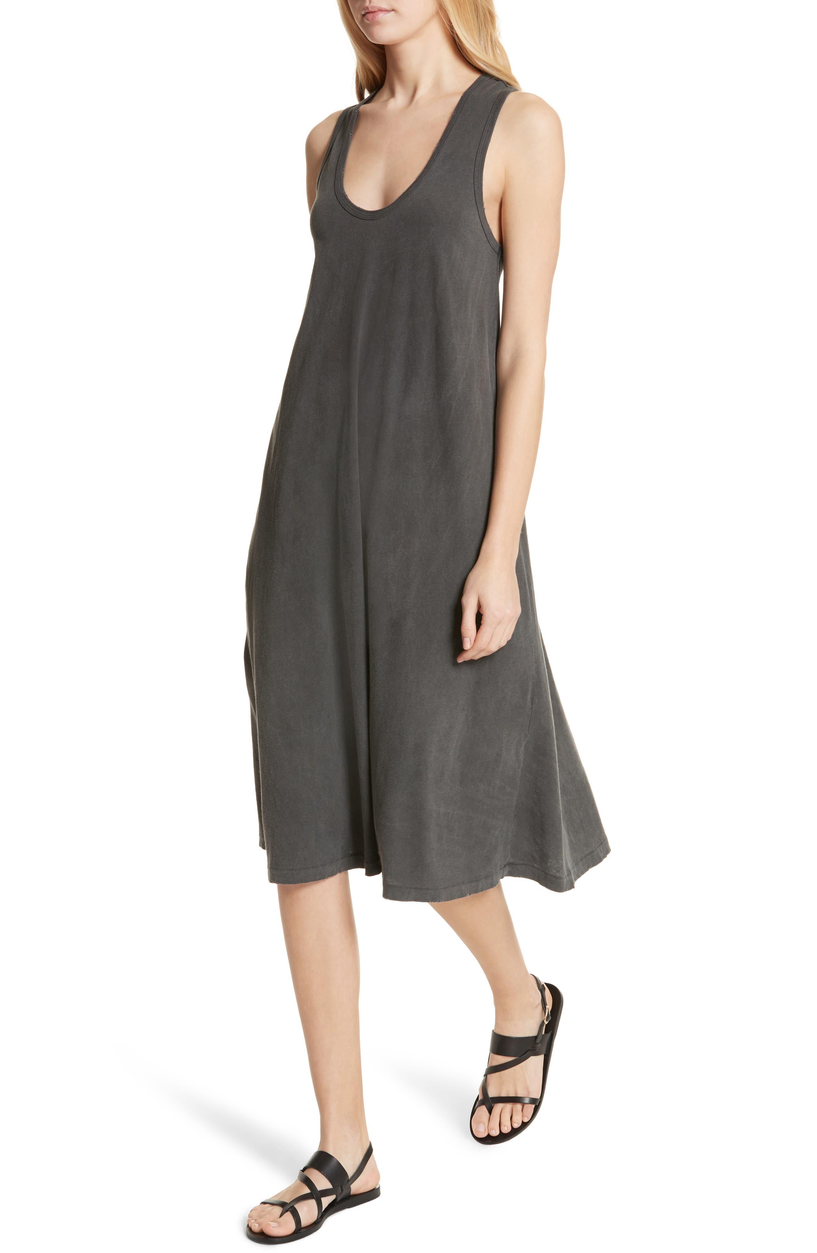 The Swing Tank Dress,                             Alternate thumbnail 4, color,                             001