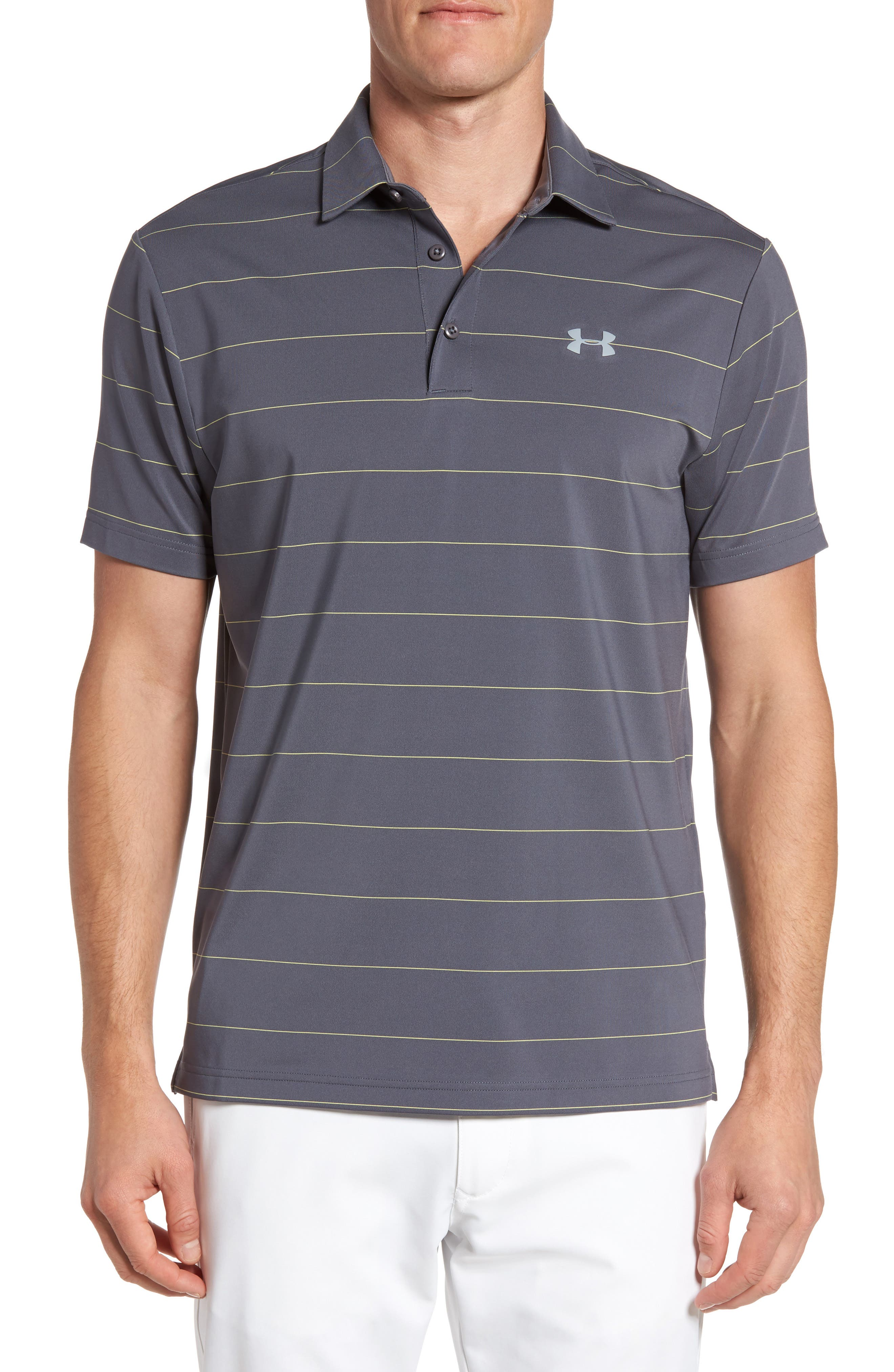 'Playoff' Loose Fit Short Sleeve Polo,                             Main thumbnail 3, color,
