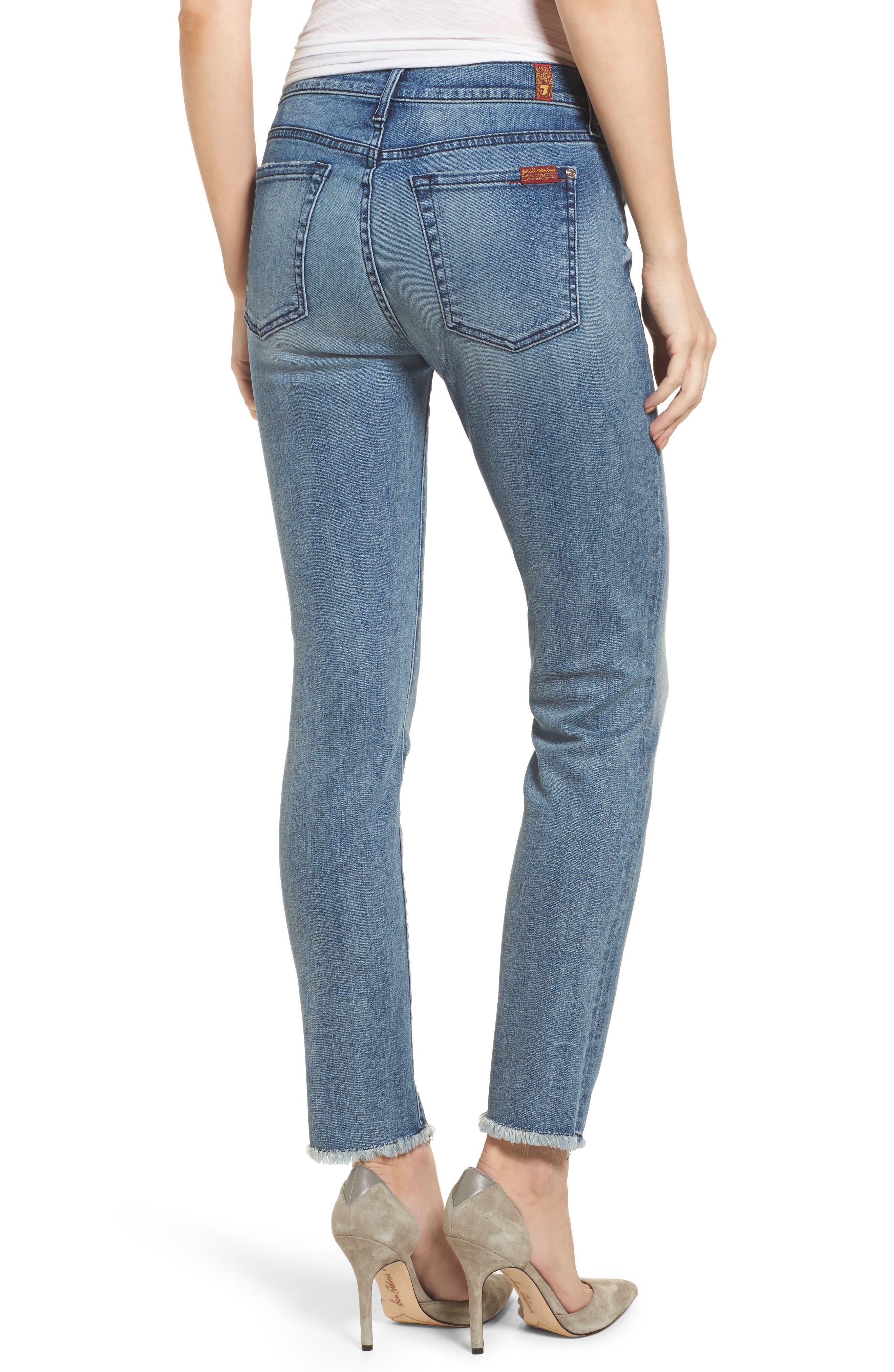 Roxanne Ankle Straight Leg Jeans,                             Alternate thumbnail 2, color,