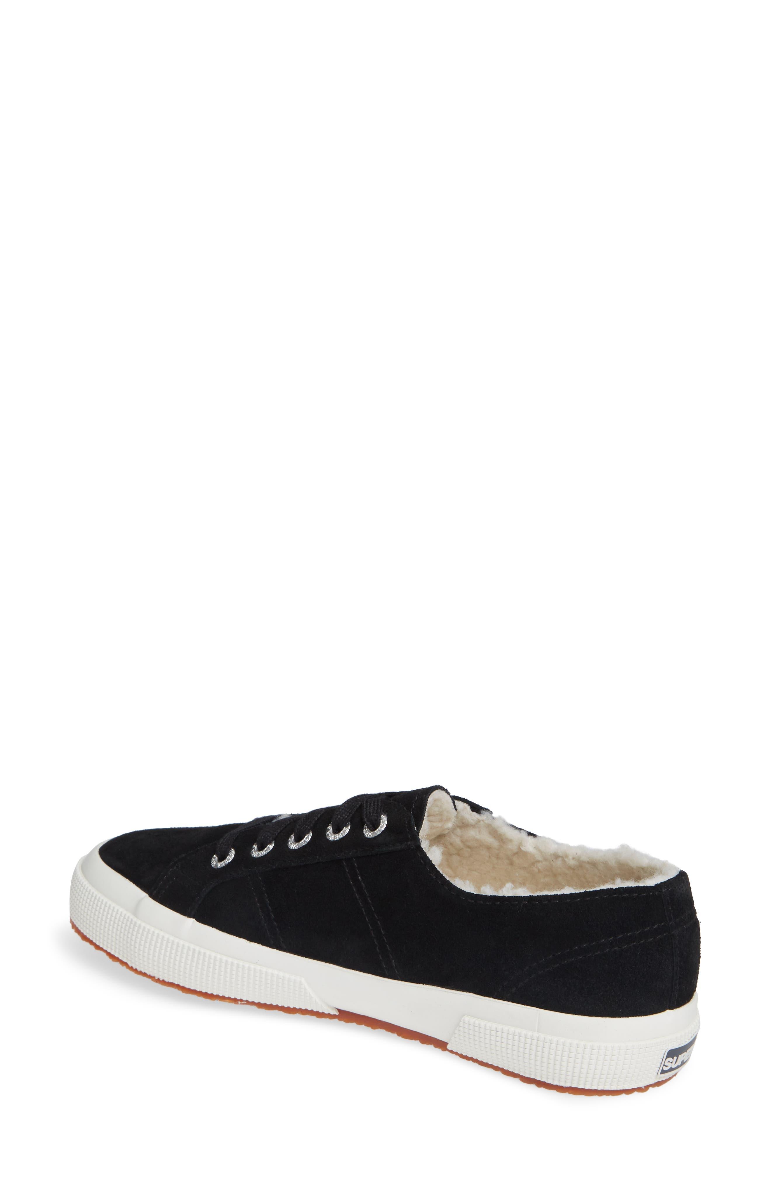 2750 Suefurw Sneaker,                             Alternate thumbnail 2, color,                             BLACK SUEDE