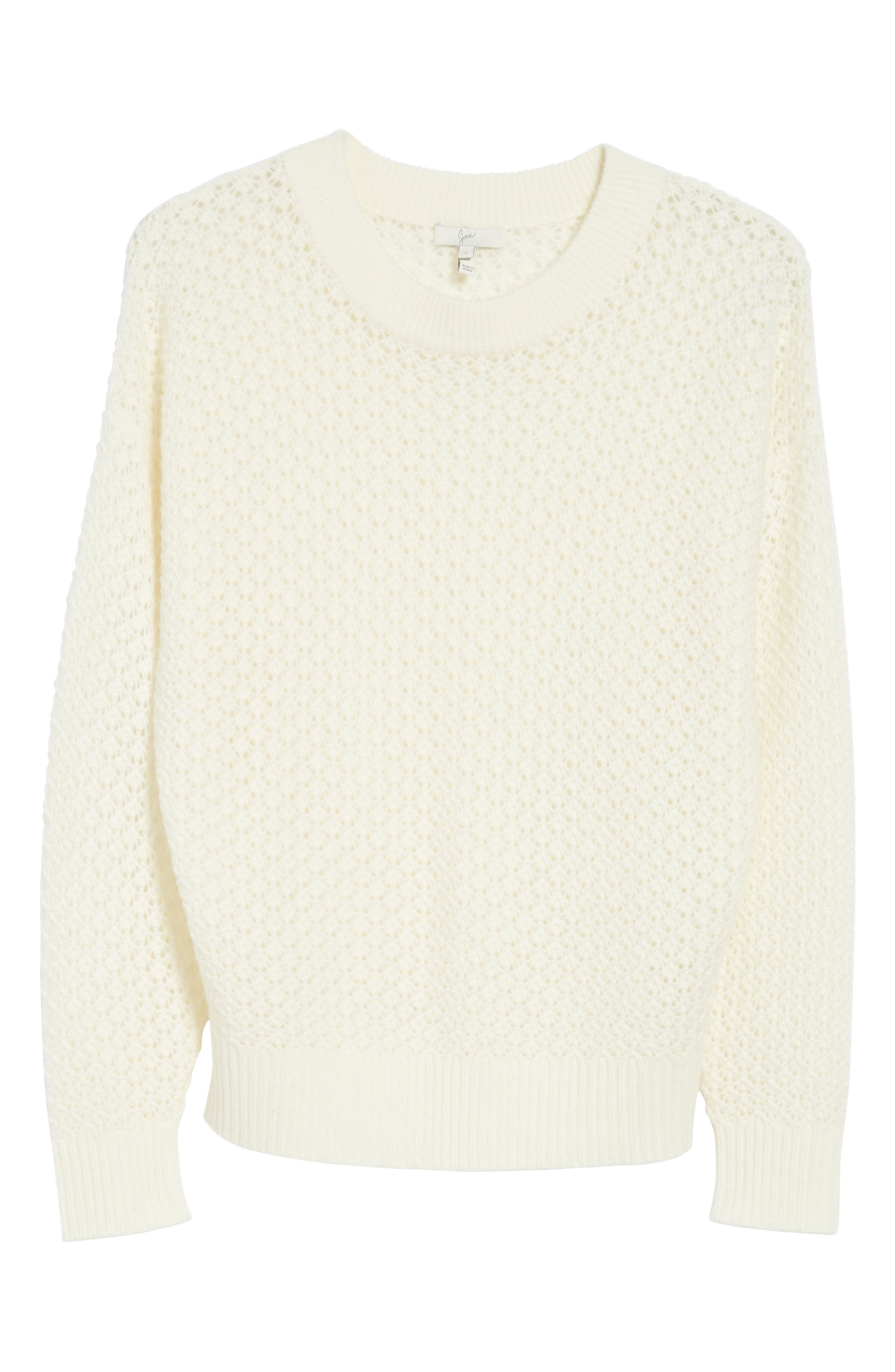 Vedis Wool & Cashmere Sweater,                             Alternate thumbnail 6, color,