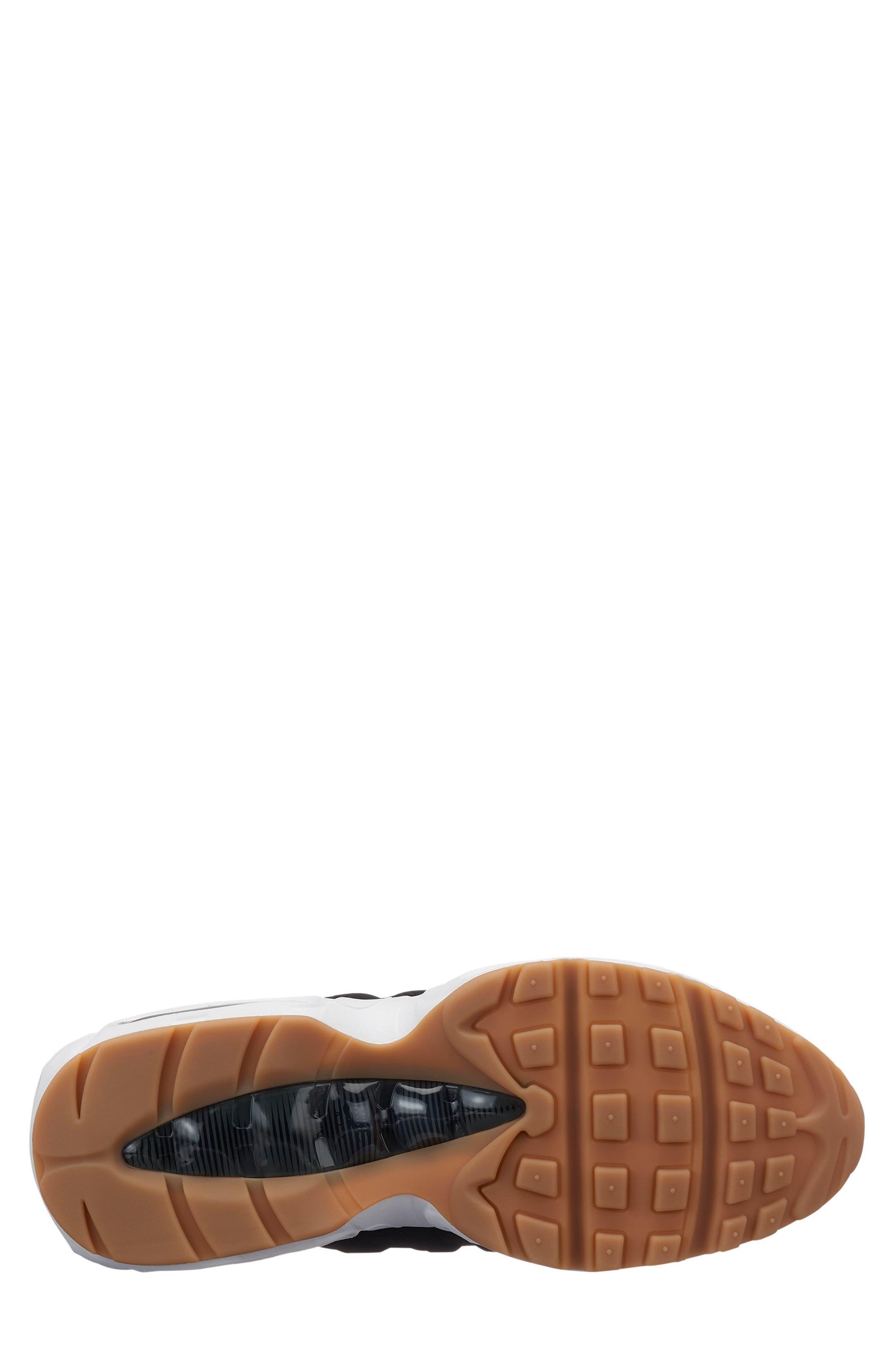 Air Max 95 Running Shoe,                             Alternate thumbnail 2, color,                             BLACK