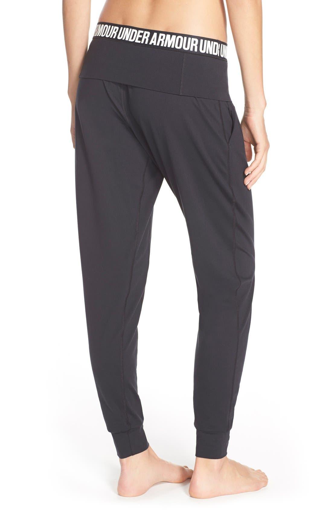 'Downtown' Knit Jogger Pants,                             Alternate thumbnail 3, color,                             001