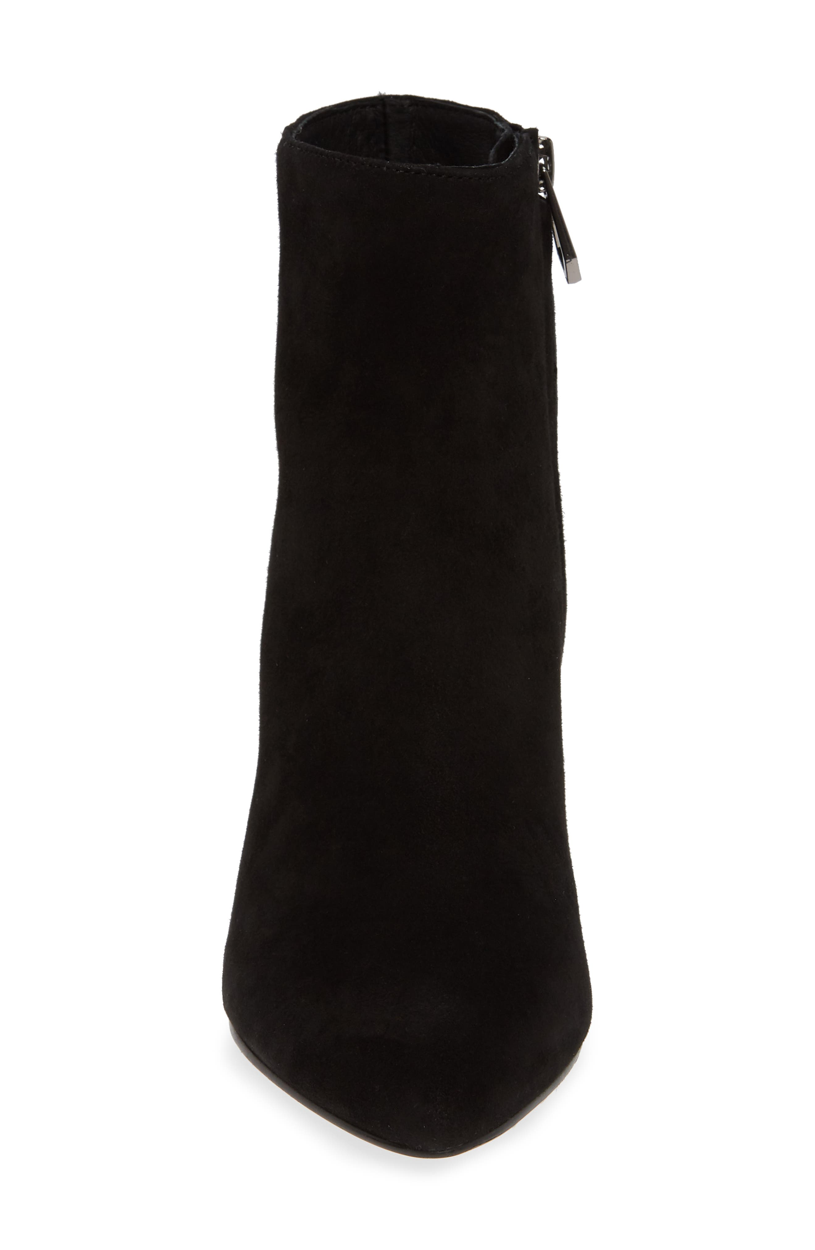 Sasha Bootie,                             Alternate thumbnail 4, color,                             BLACK SUEDE