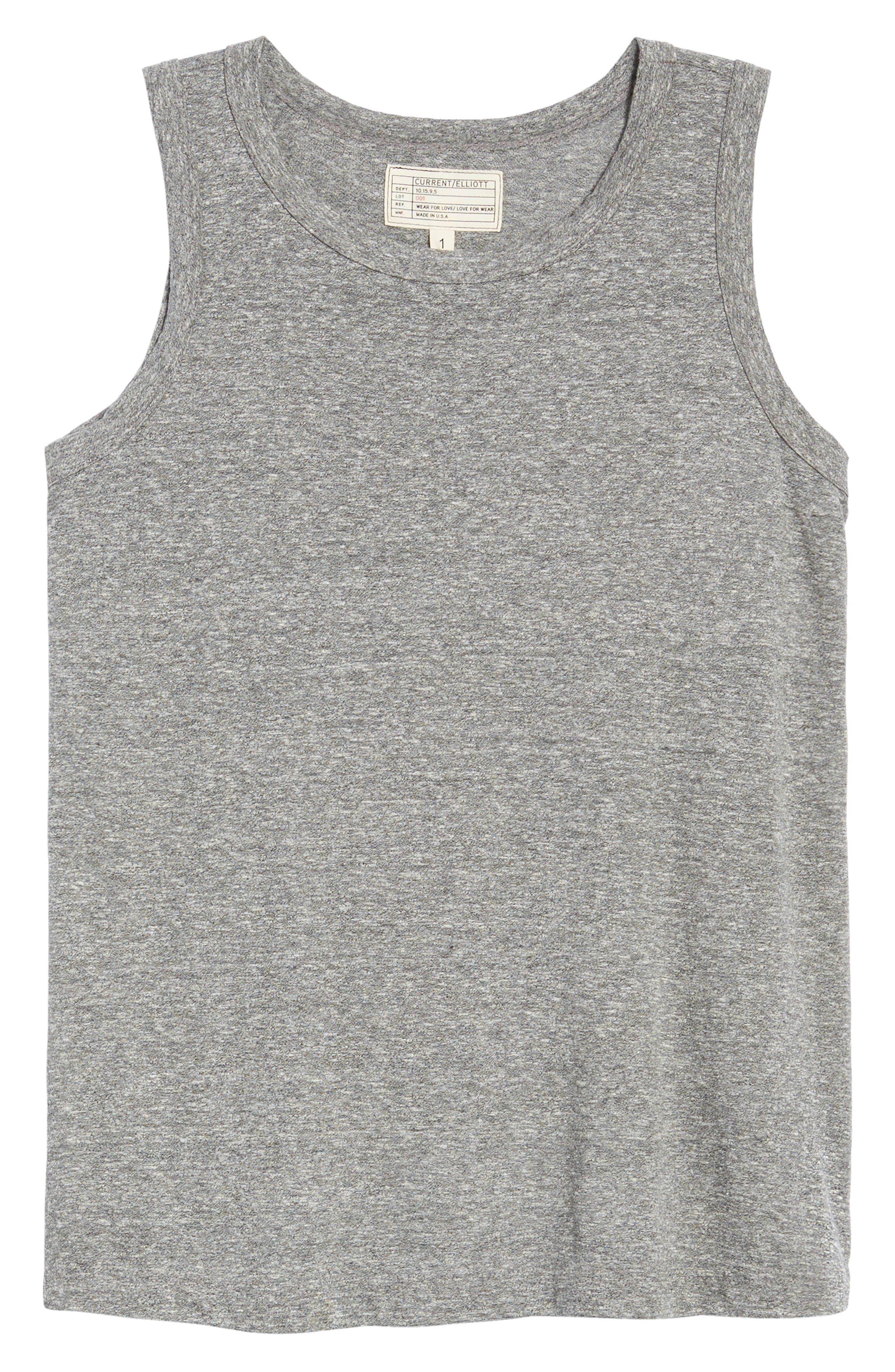 'The Muscle' Tee,                             Alternate thumbnail 7, color,                             HEATHER GREY