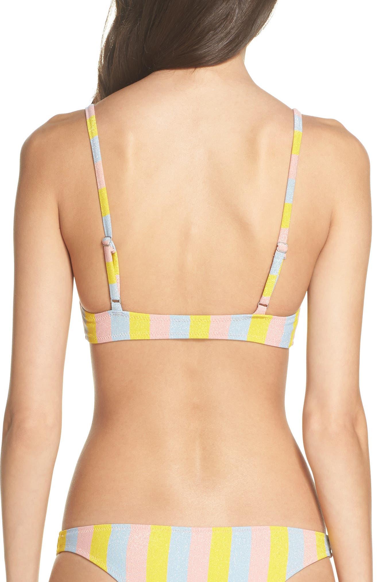 The Rachel Bikini Top,                             Alternate thumbnail 2, color,                             750