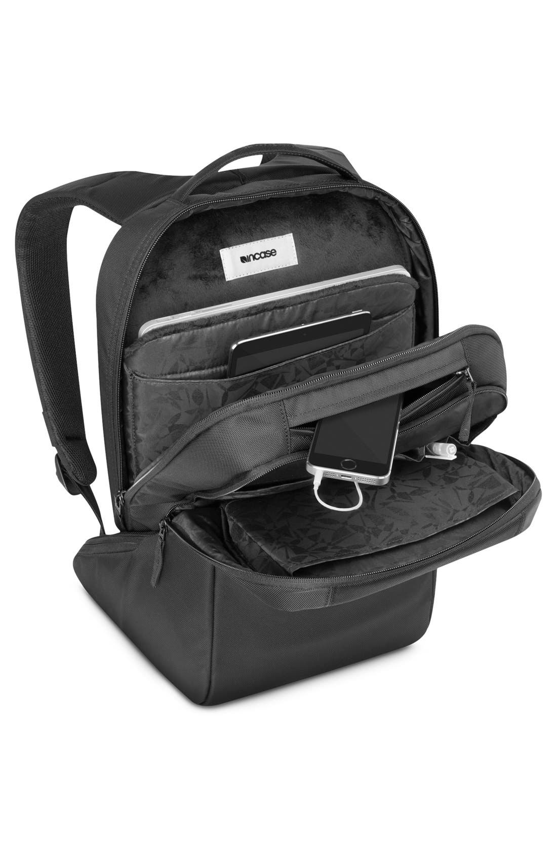 Icon Slim Backpack,                             Alternate thumbnail 2, color,                             BLACK