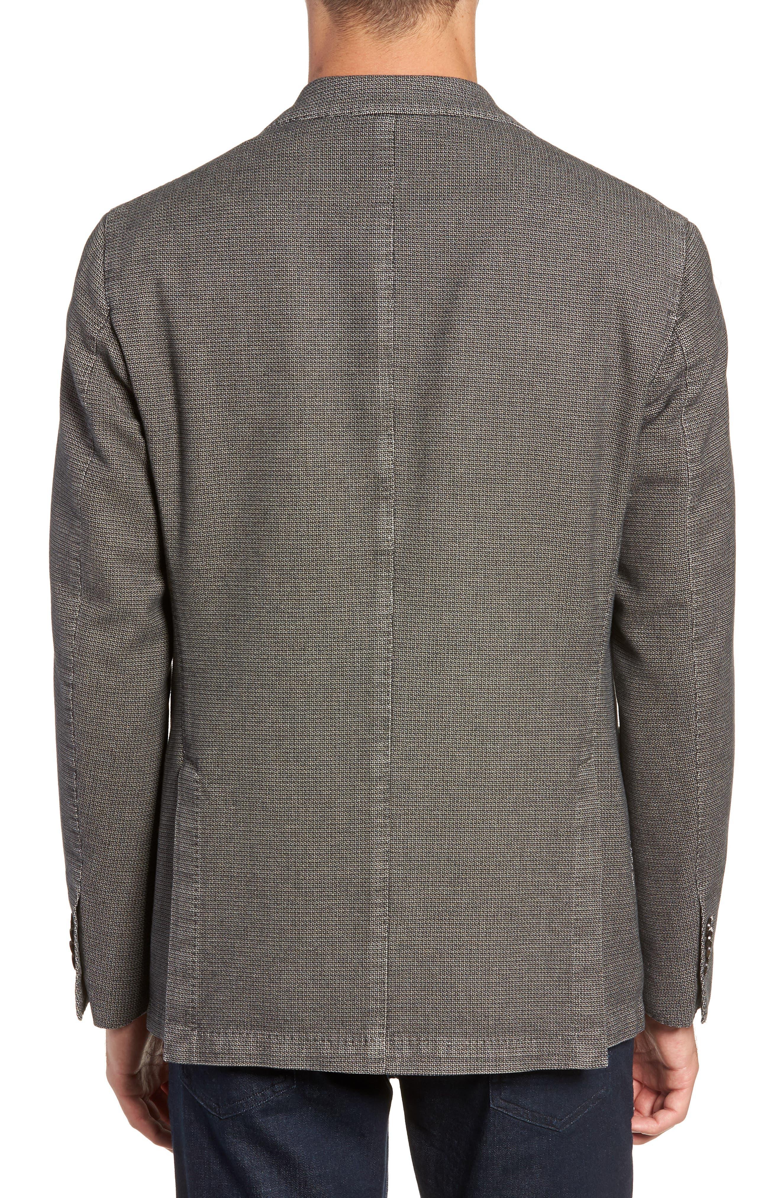 L.B.M 1911 Classic Fit Cotton Blazer,                             Alternate thumbnail 2, color,                             TAUPE