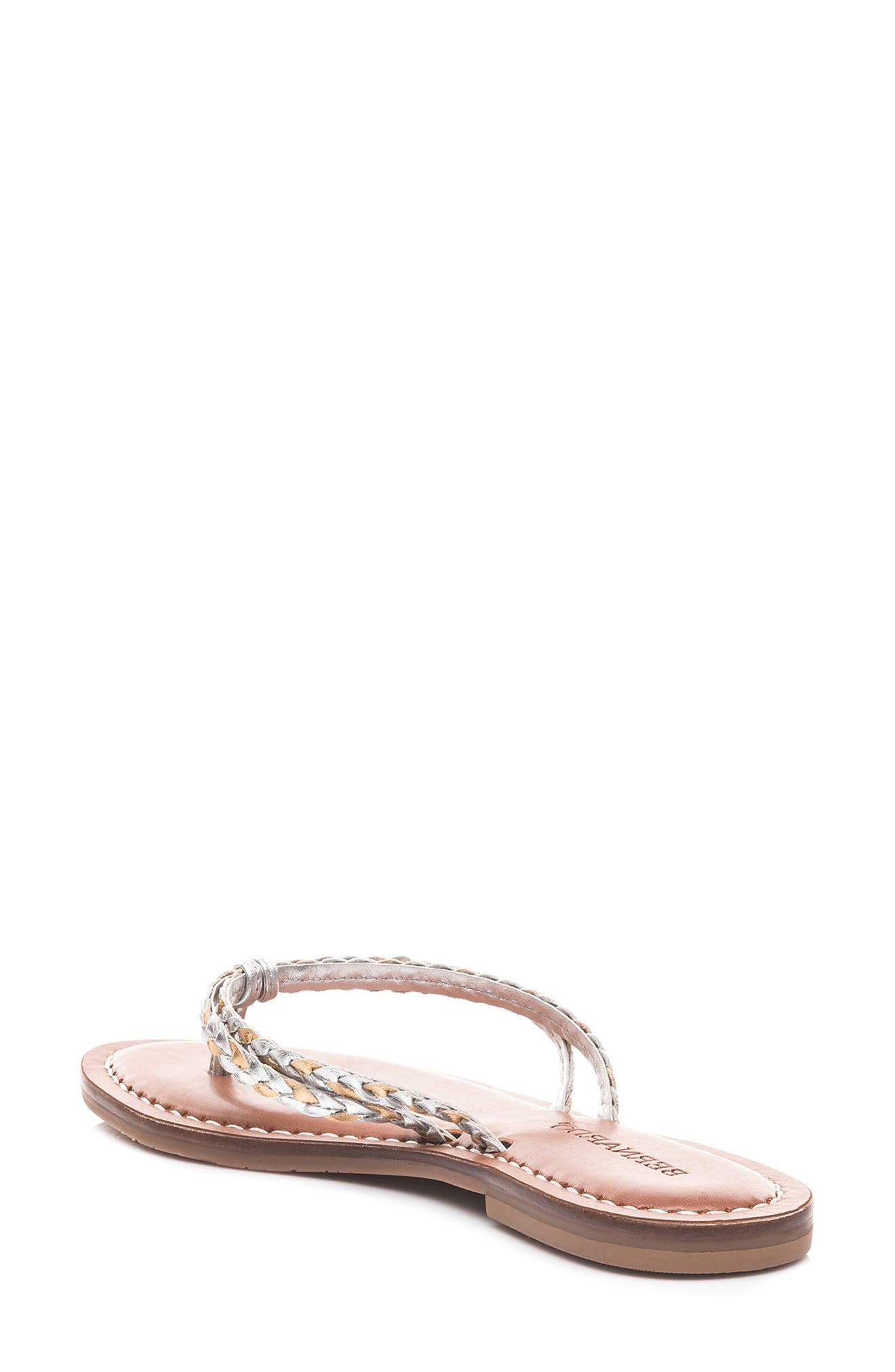 Bernardo Greta Braided Strap Sandal,                             Alternate thumbnail 9, color,
