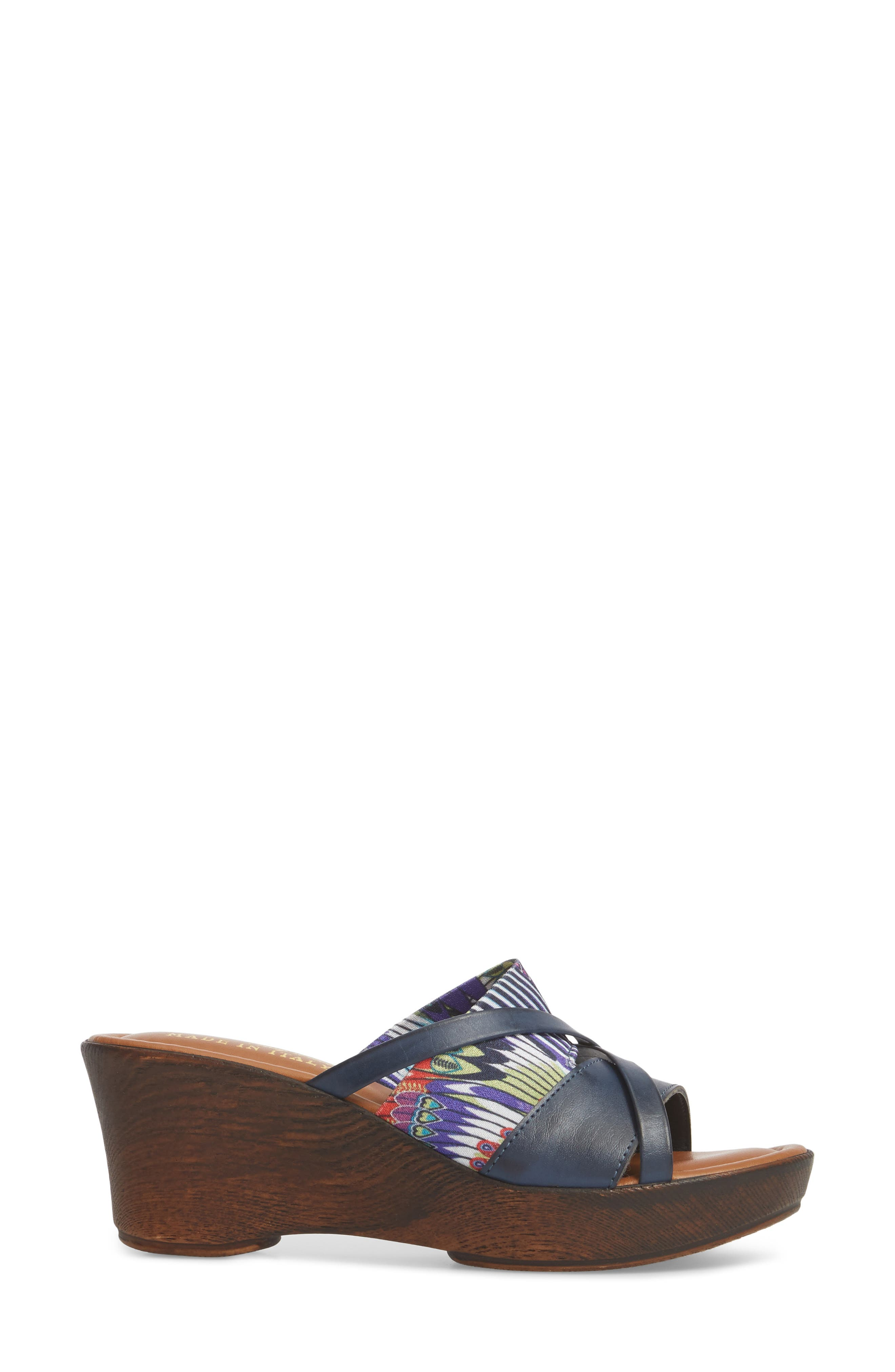 by East Street<sup>®</sup> Lucette Strappy Wedge Mule,                             Alternate thumbnail 14, color,