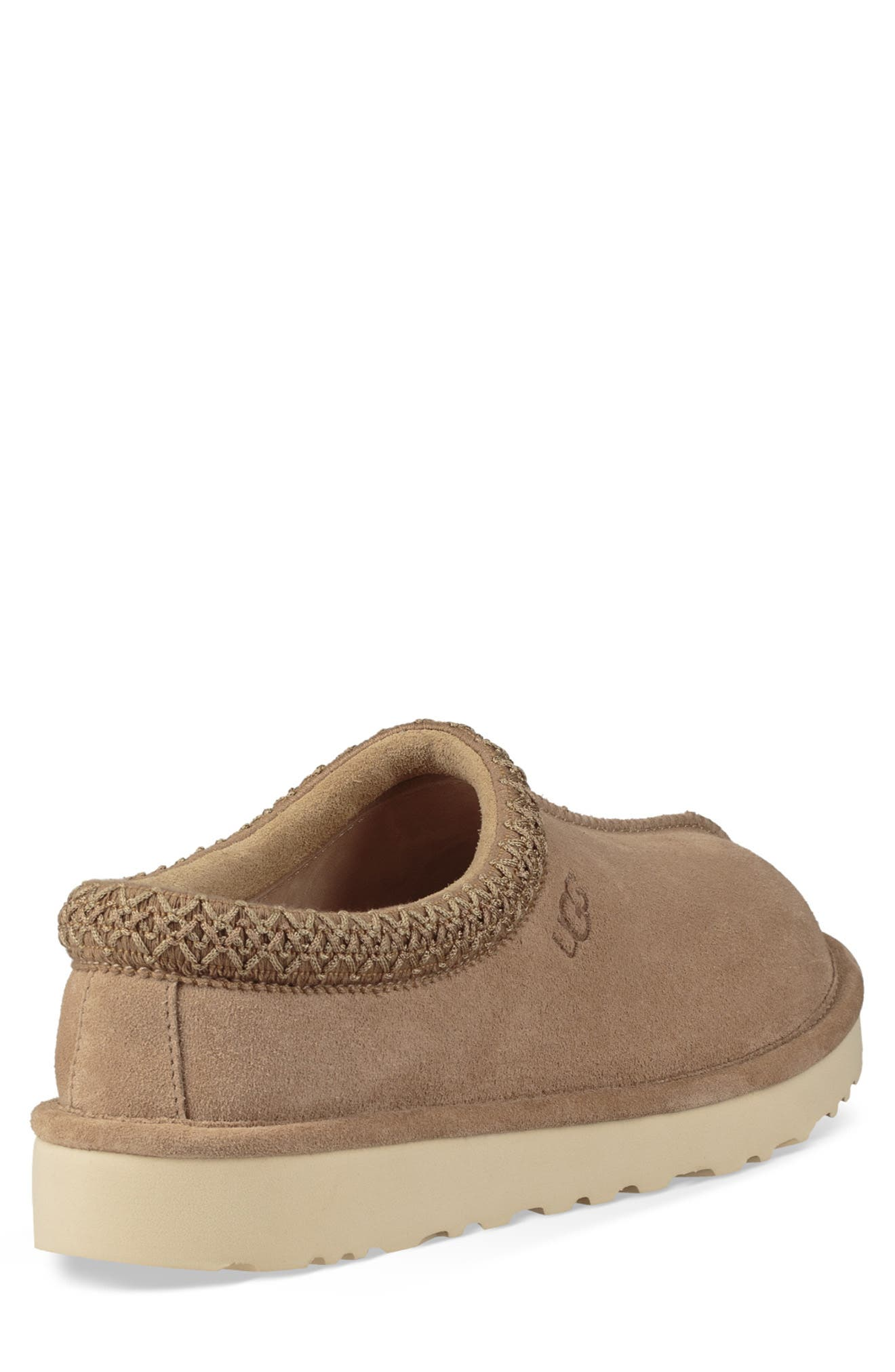 Tasman Pinnacle Indoor/Outdoor Horween Slipper,                             Alternate thumbnail 2, color,                             BEIGE