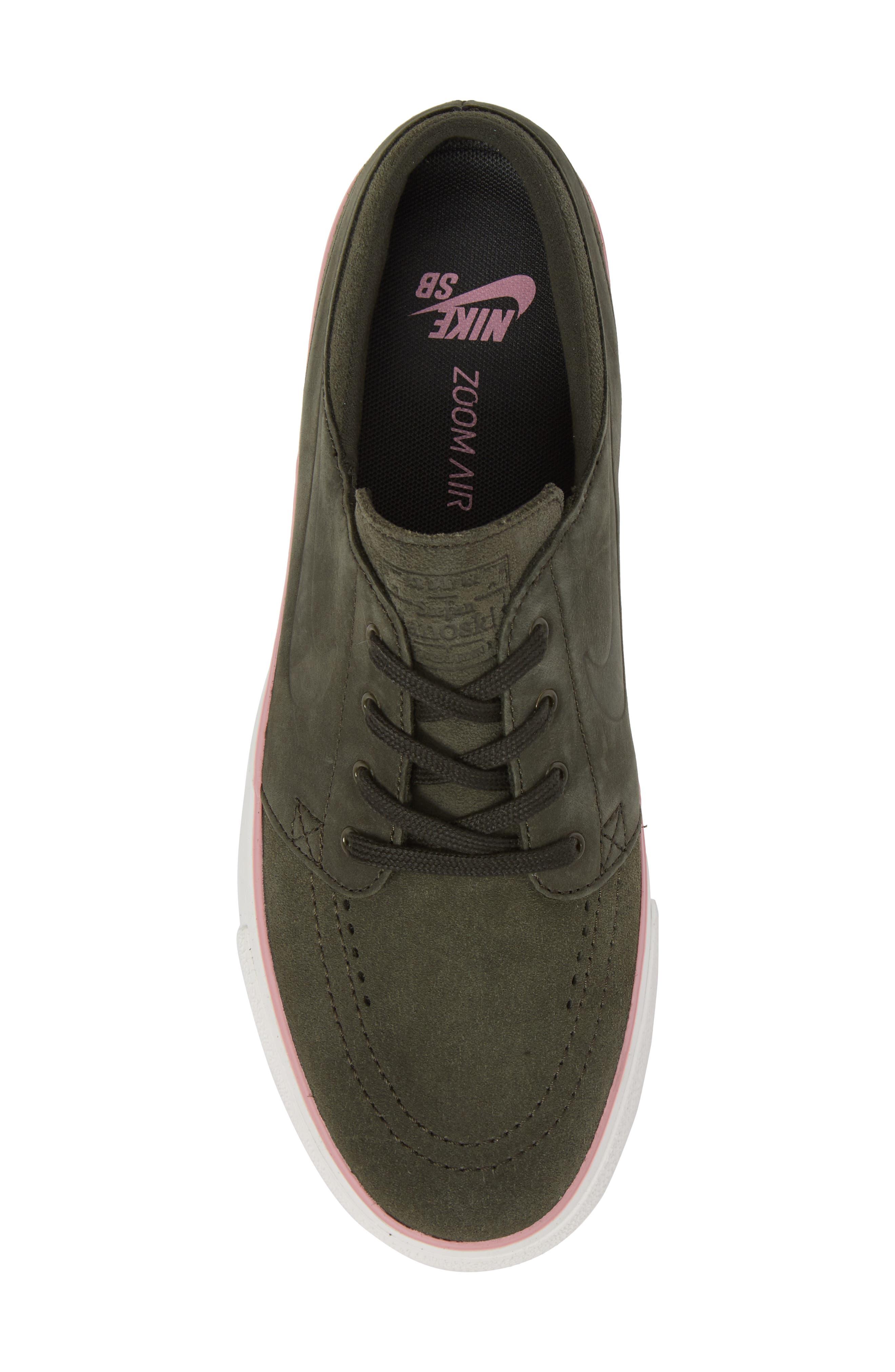 Zoom - Stefan Janoski SB Low Top Sneaker,                             Alternate thumbnail 5, color,                             300