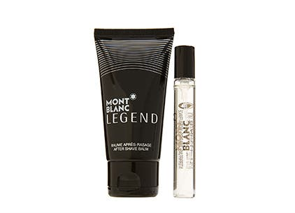 Montblanc beauty gift with purchase.