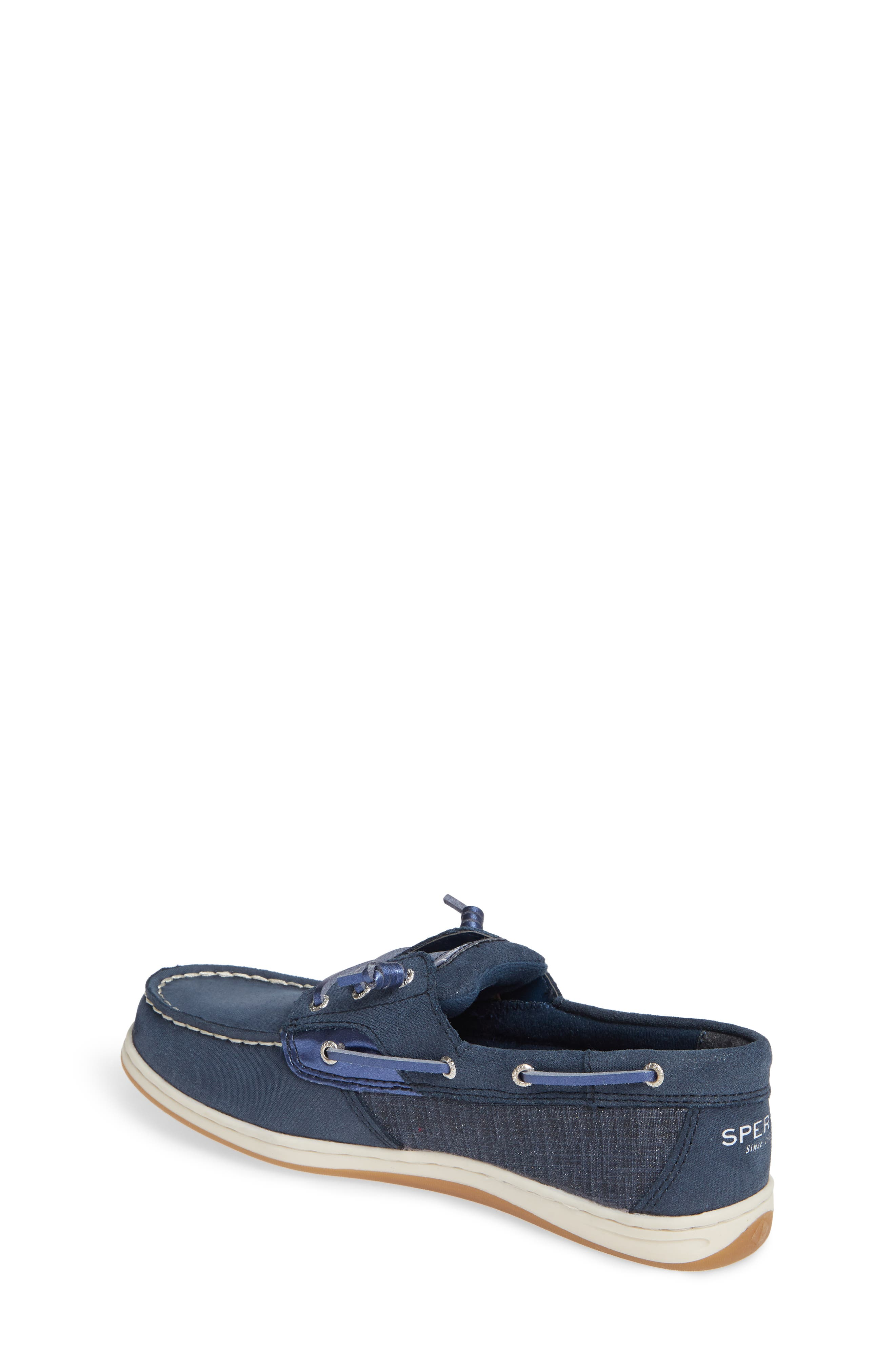 'Songfish Jr' Boat Shoe,                             Alternate thumbnail 2, color,                             410