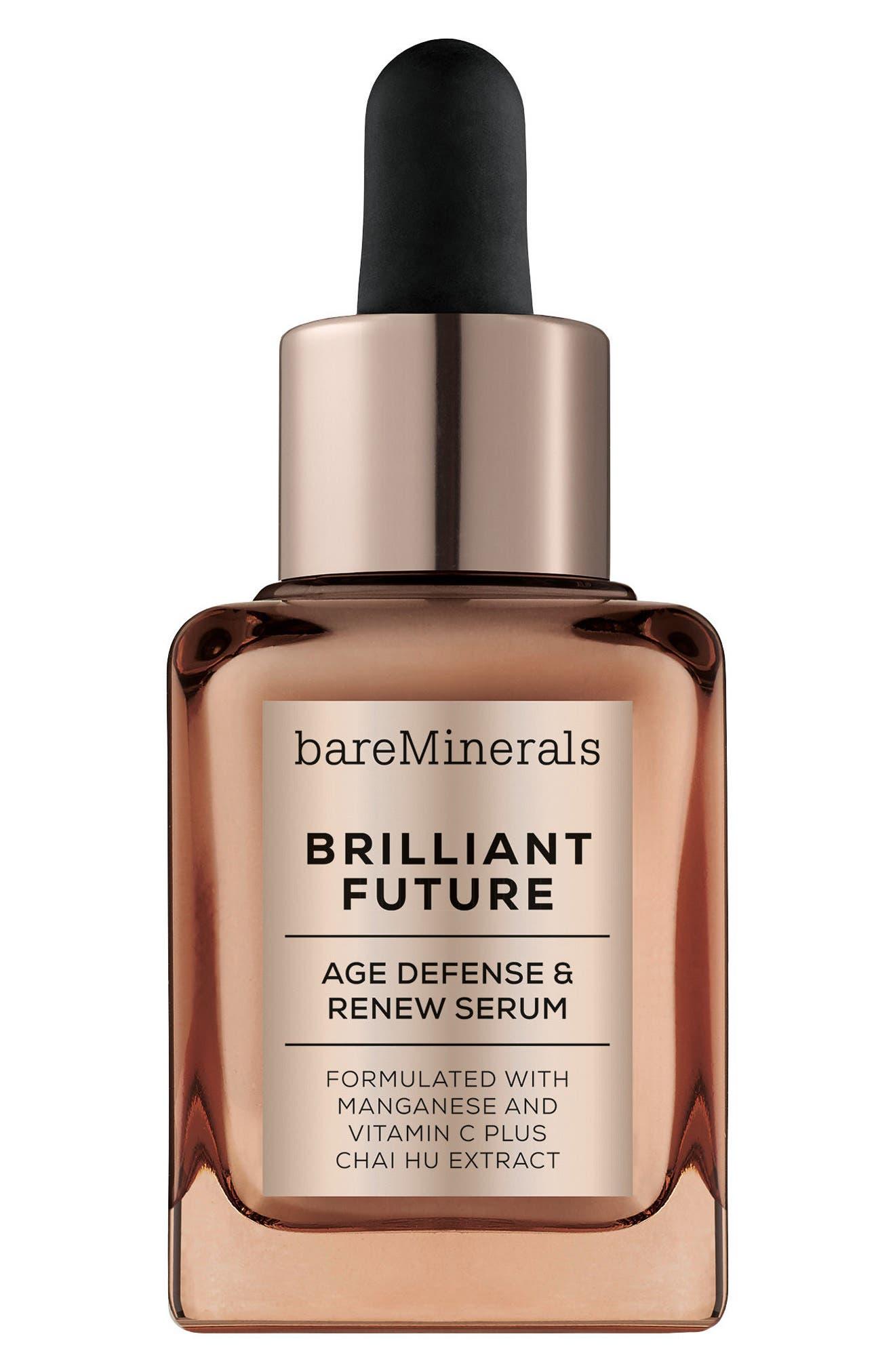 Brilliant Future<sup>™</sup> Age Defense & Renew Serum,                             Main thumbnail 1, color,                             000