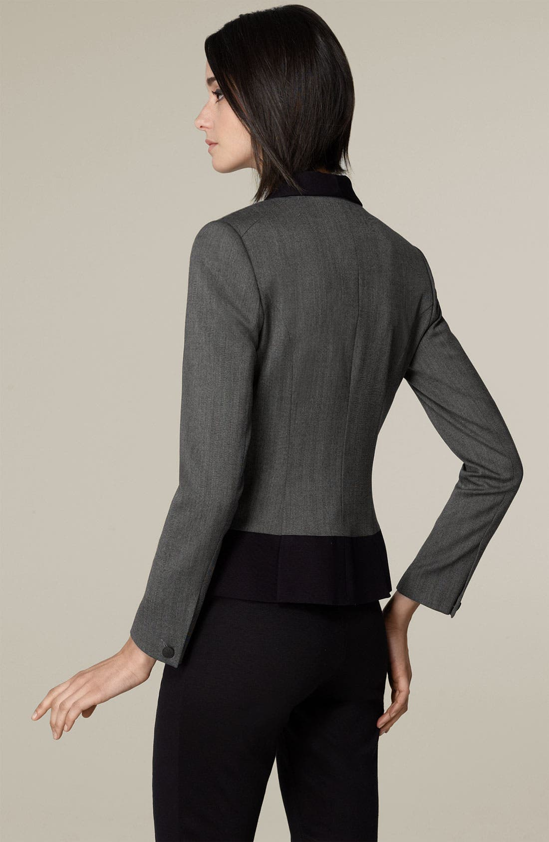 'Jem' One Button Stretch Wool Jacket,                             Alternate thumbnail 2, color,                             050
