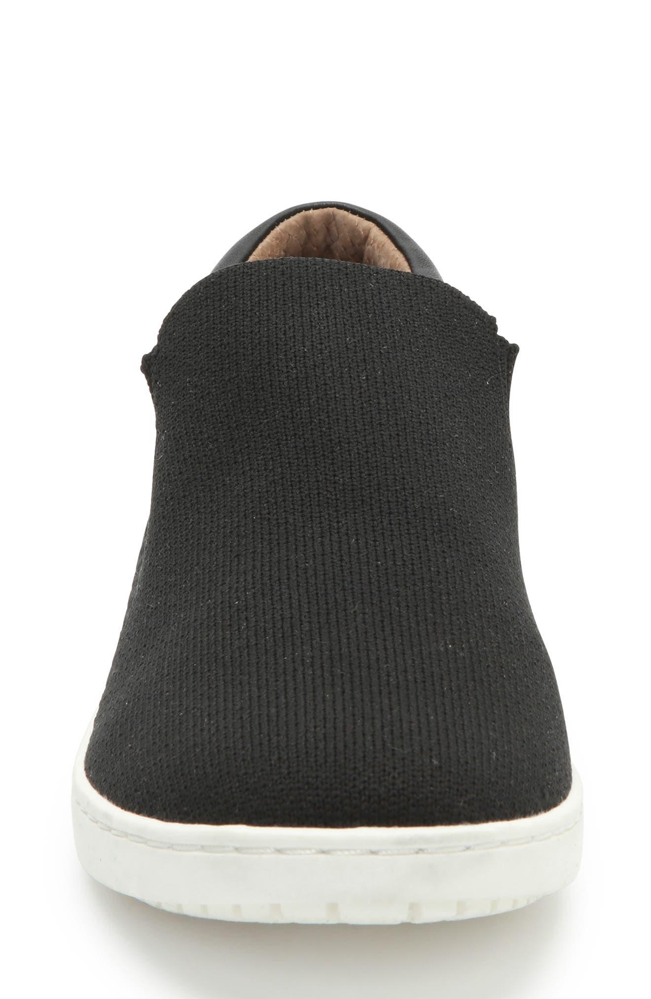 ADAM TUCKER BY ME TOO,                             Adam Tucker Romy Slip-On Sneaker,                             Alternate thumbnail 4, color,                             BLACK FABRIC