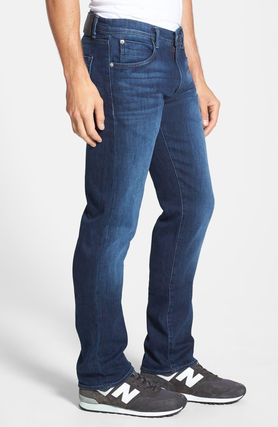 'Pragmatist Big Drake 4 Year Flex' Straight Leg Italian Stretch Denim Jeans,                             Alternate thumbnail 4, color,                             421