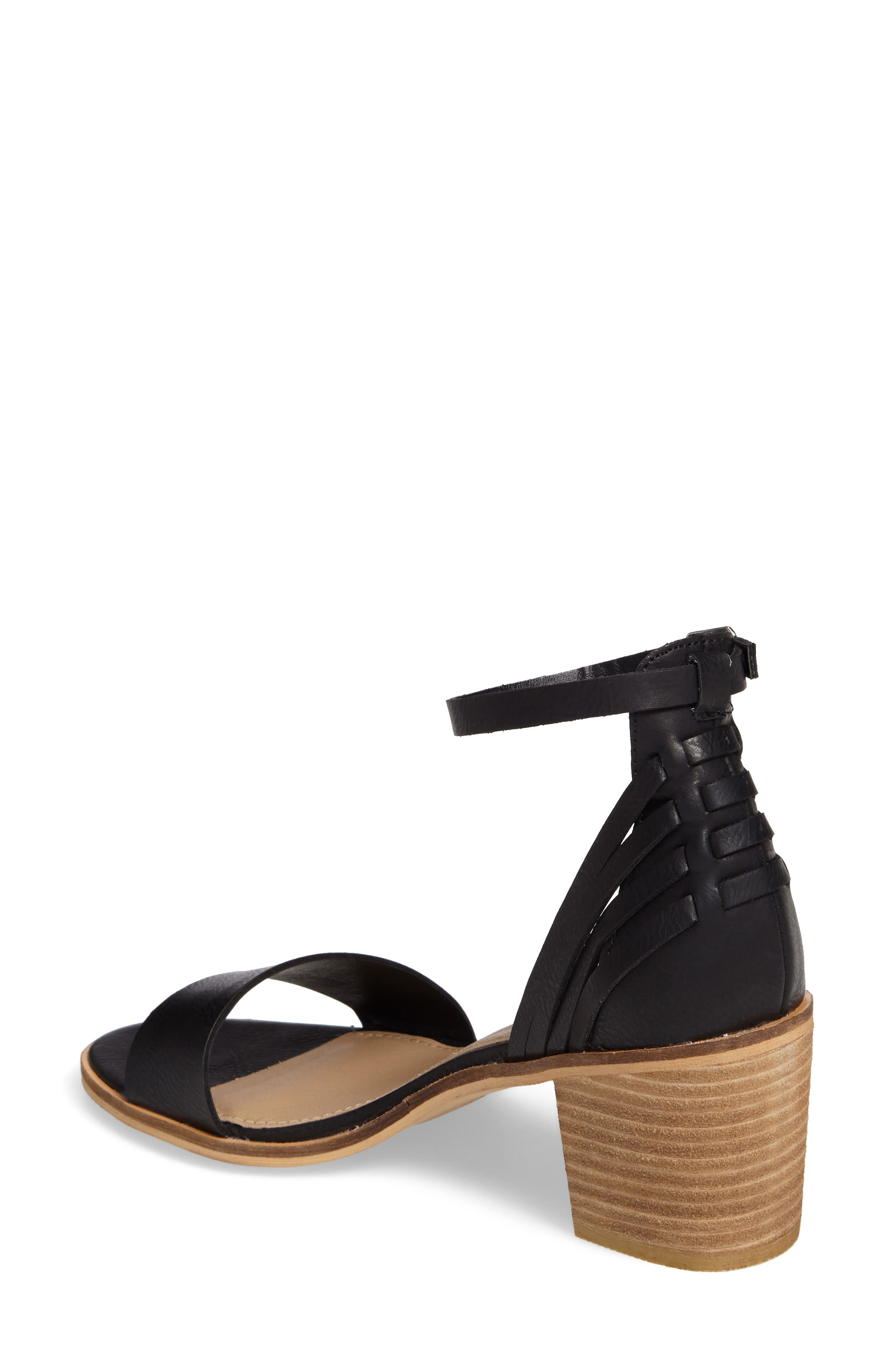 Fars Block Heel Sandal,                             Alternate thumbnail 2, color,                             001